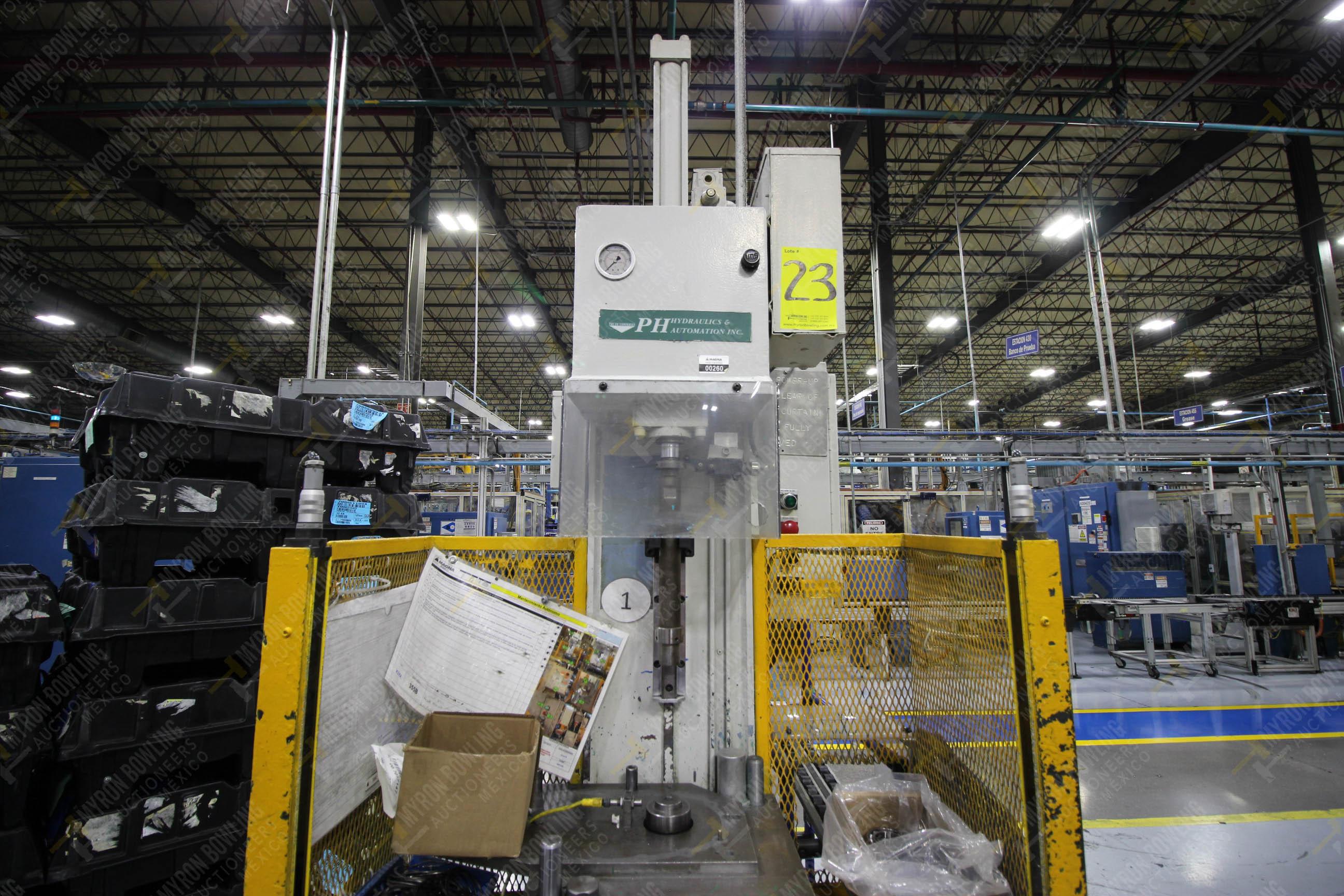 Estación semiautomática para operación 355B, contiene: Prensa tipo cuello de ganso - Image 16 of 21