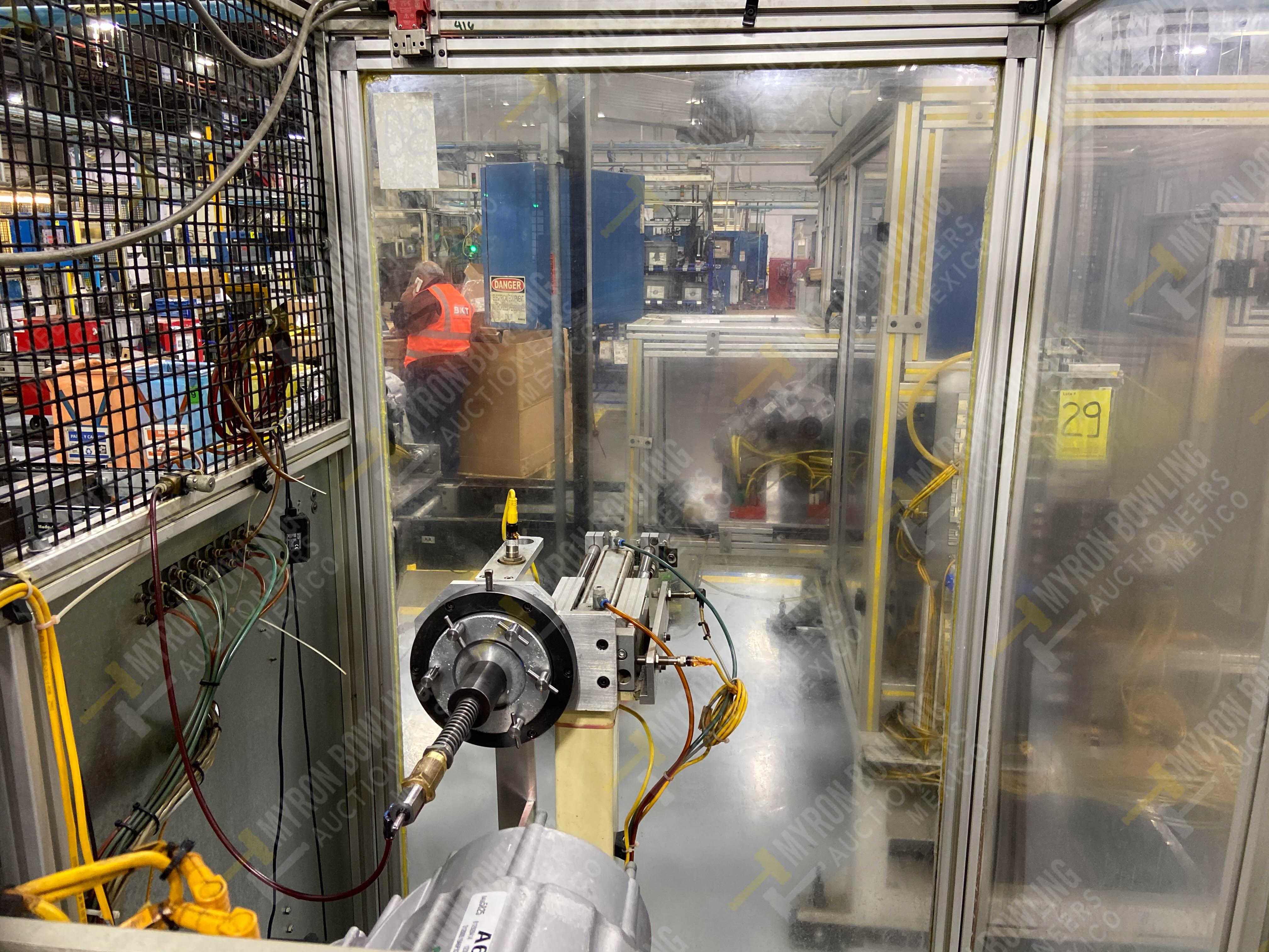Estación semiautomática para operación 415, contiene: Máquina pesadora de piezas con 1 cilindro - Image 12 of 16