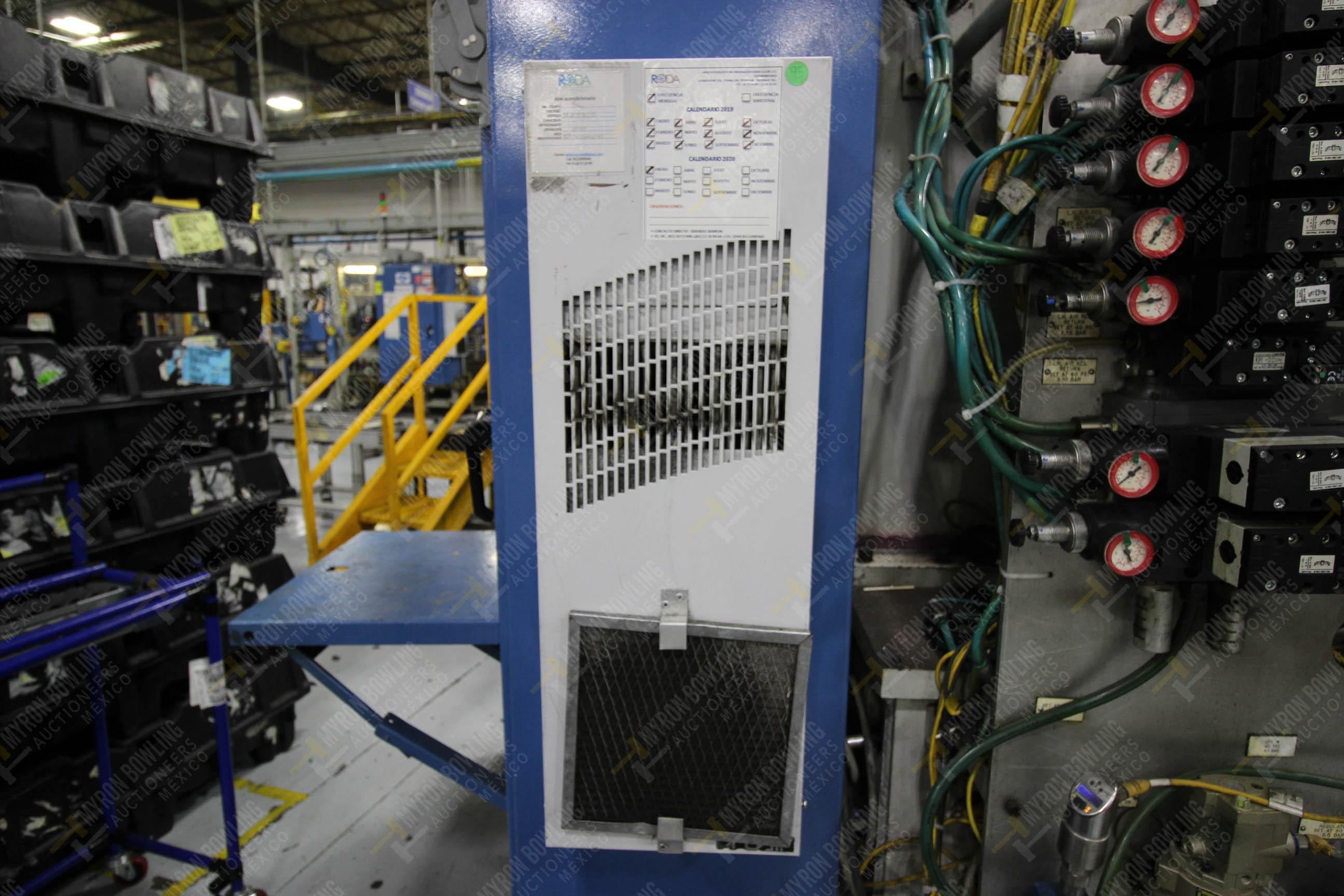 Estación semiautomática para operación 355A, contiene: Prensa en estructura de placa de acero - Image 30 of 36