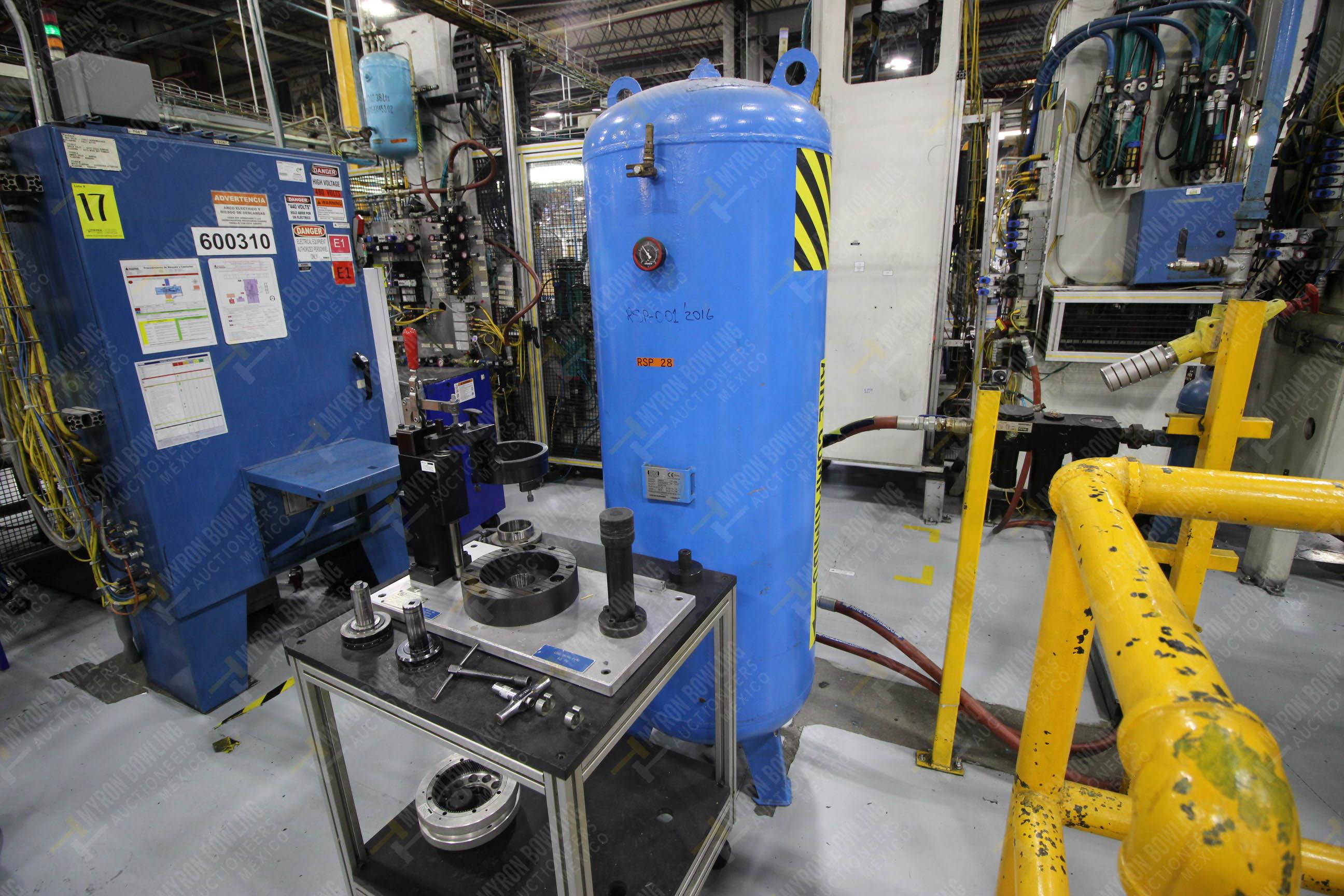 Estación semiautomática para operación 305D, contiene: Prensa tipo cuello de ganso con dos cilindros - Image 6 of 20