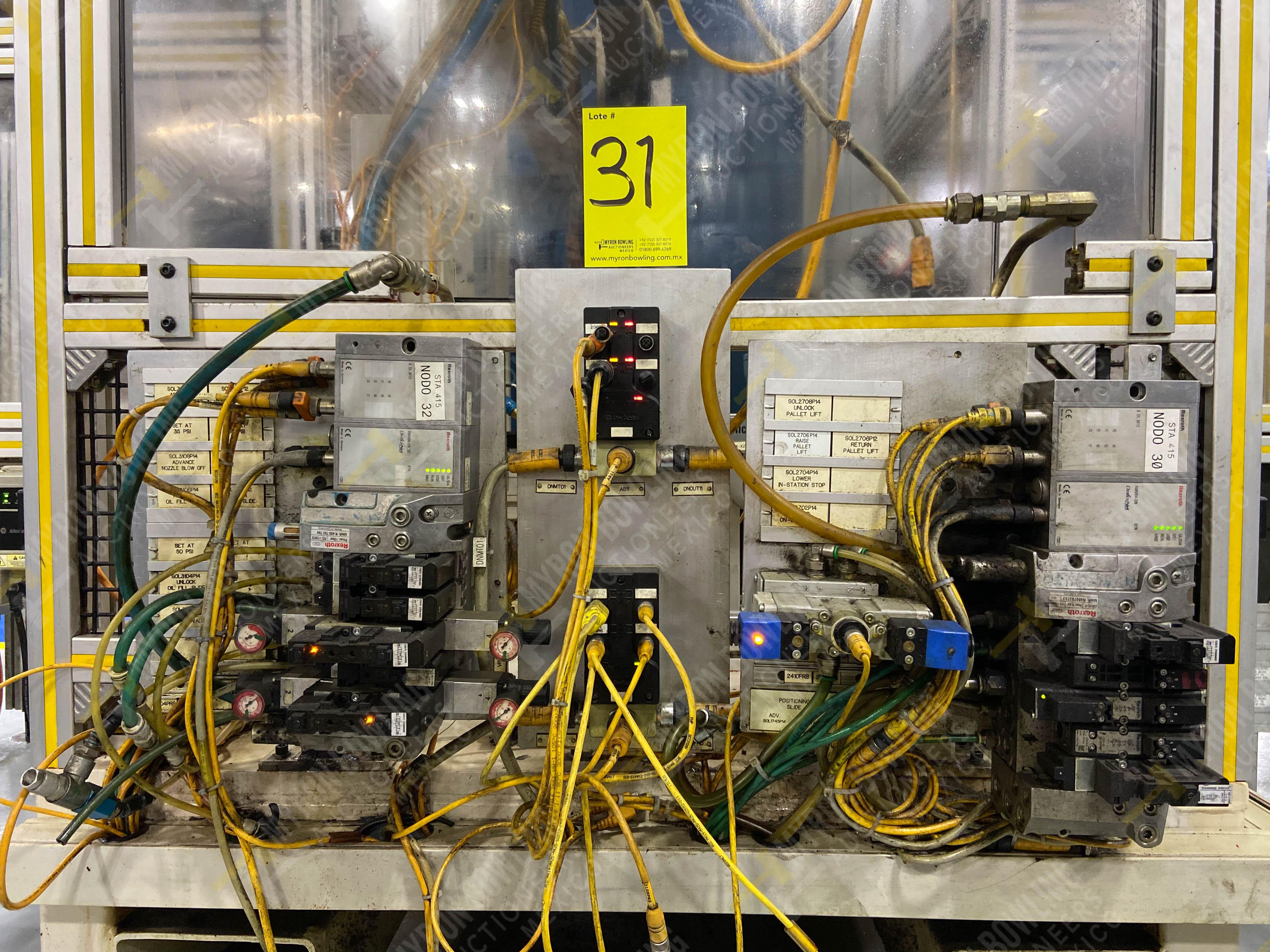 Estación semiautomática para operación 416, contiene: Sistema de llenado de aceite - Image 15 of 20