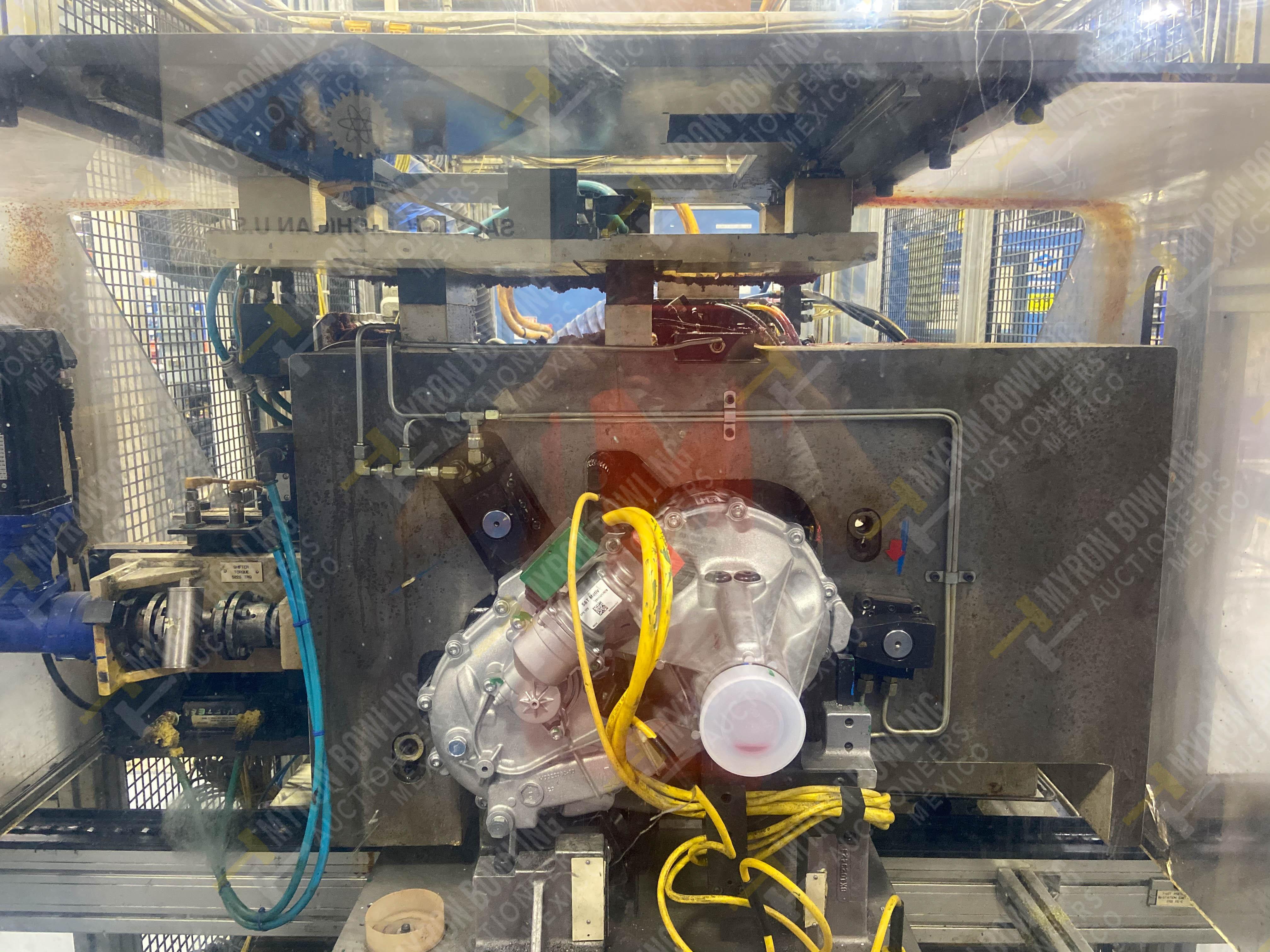 Estación semiautomática para operación 430, contiene: Máquina dinamómetro con sistema de revolución - Image 10 of 32