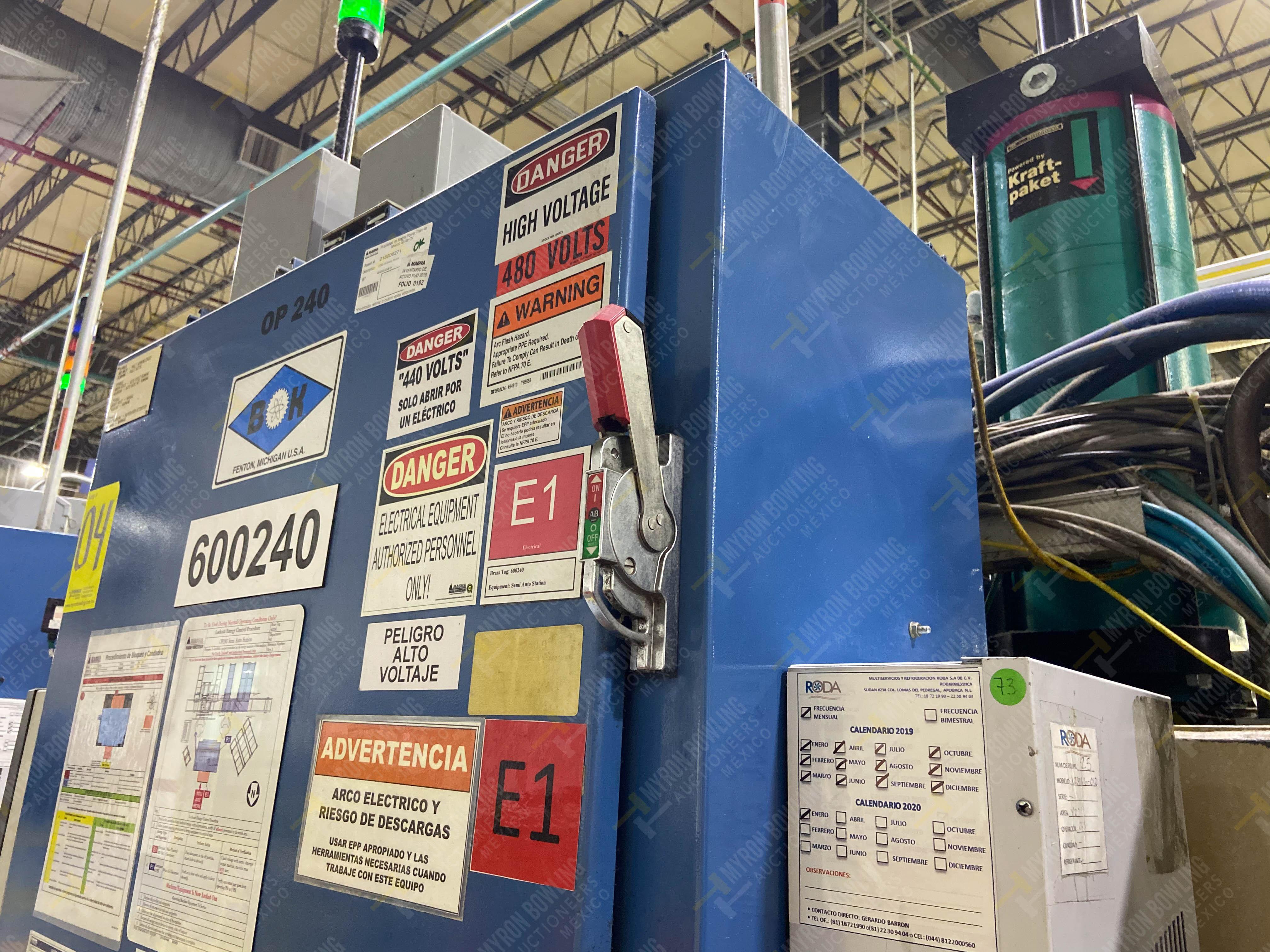 Estación semiautomática para operación 240A de ensamble de balero - Image 25 of 29