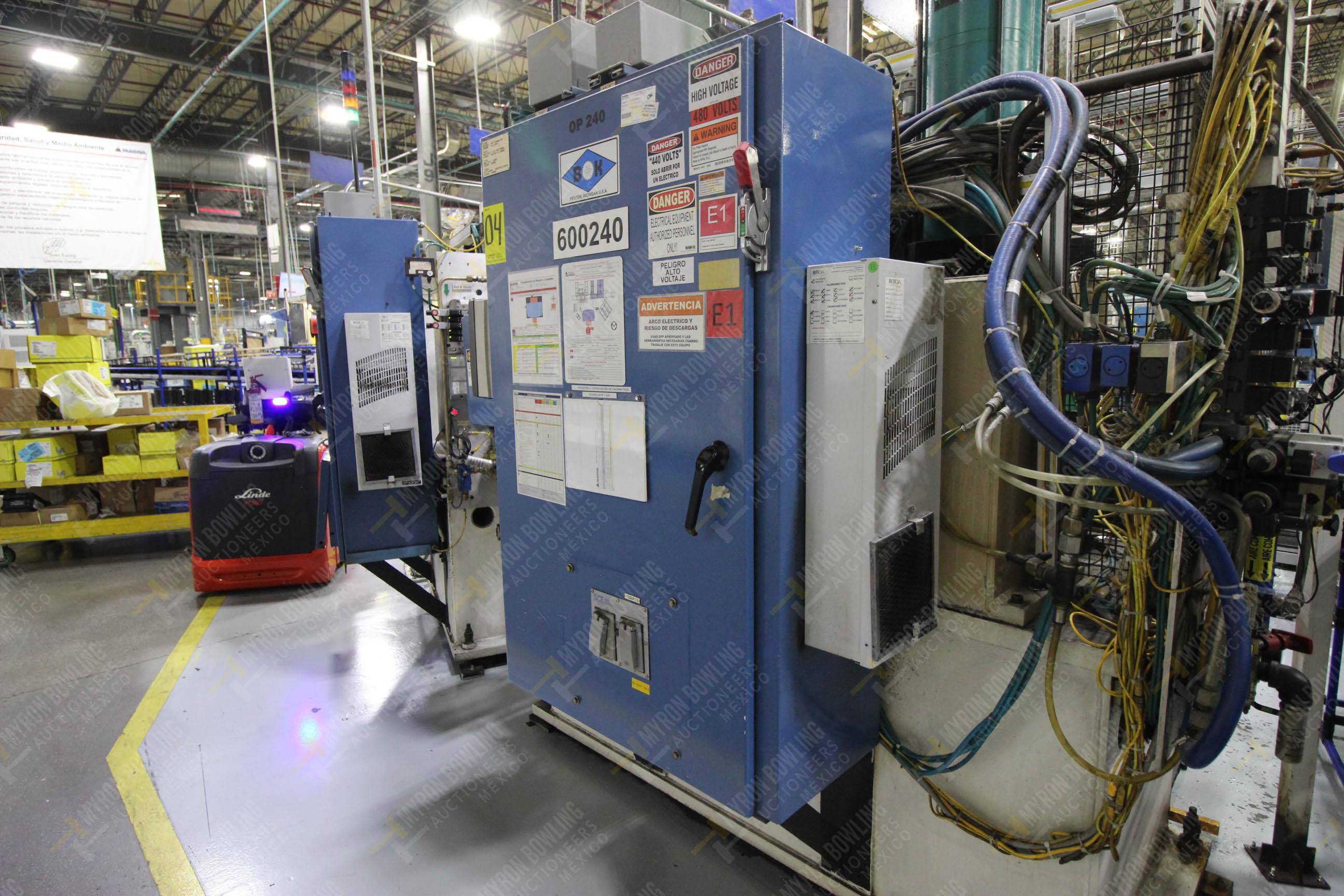 Estación semiautomática para operación 240A de ensamble de balero - Image 19 of 29