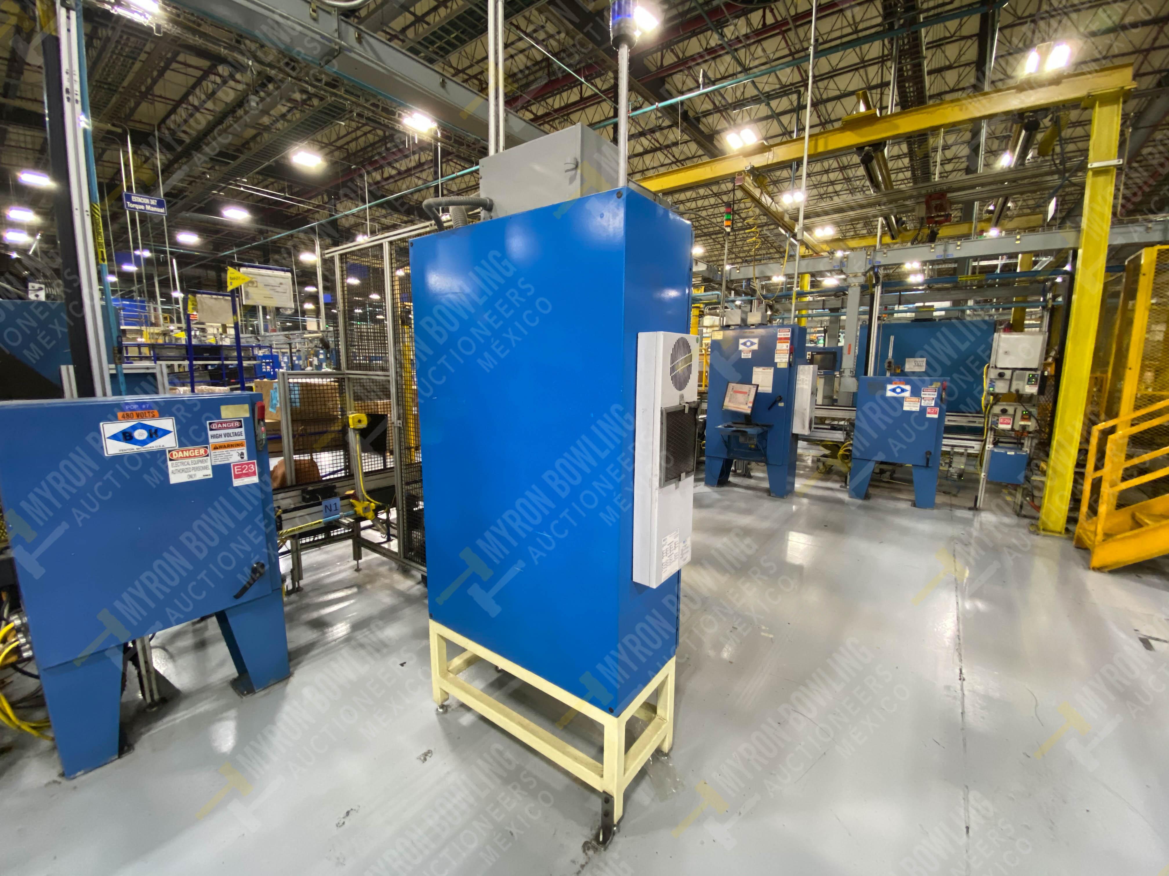 Estación manual para operación 383, contiene: Prensa marca PROMESS en estructura de placa de acero - Image 24 of 27