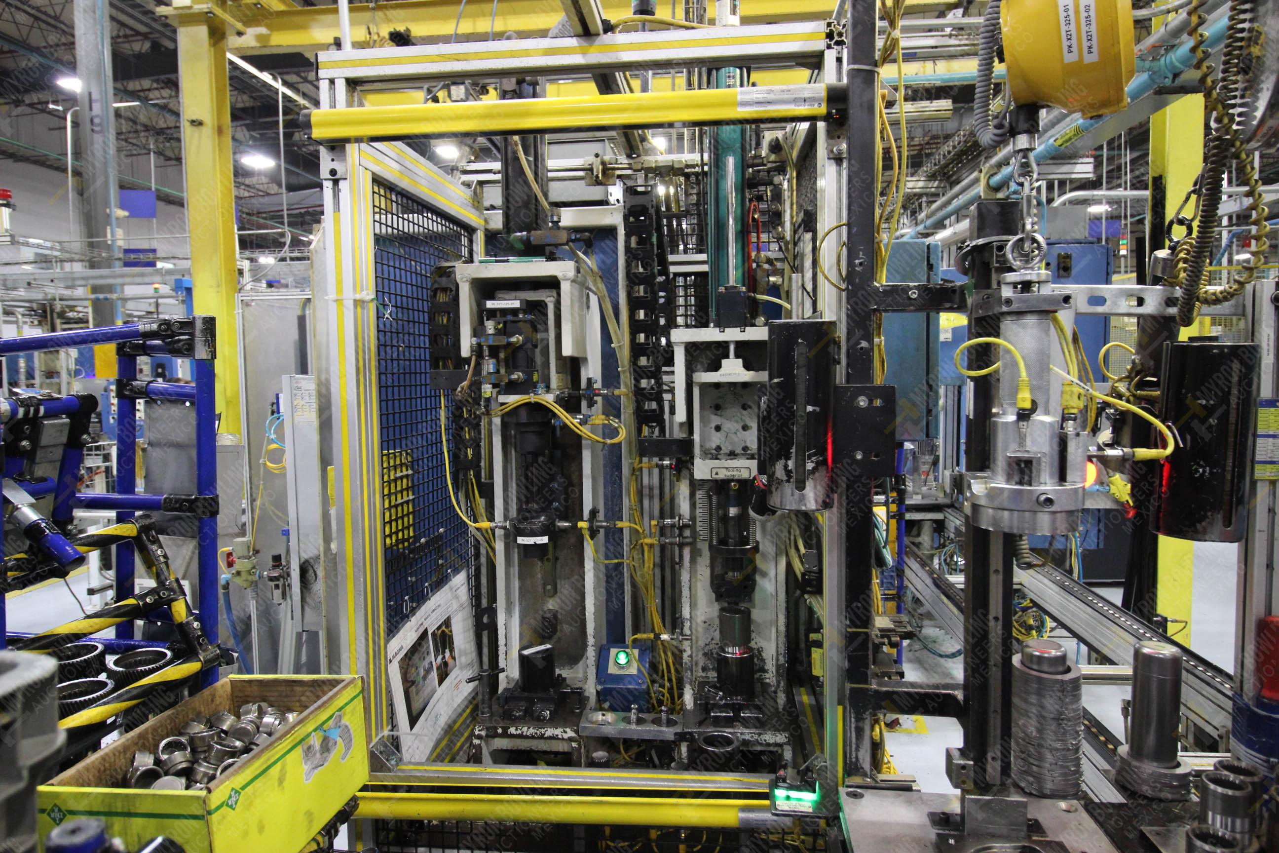 Estación semiautomática para operación 325, contiene: Prensa con dos cilindros marca TOX - Image 6 of 24
