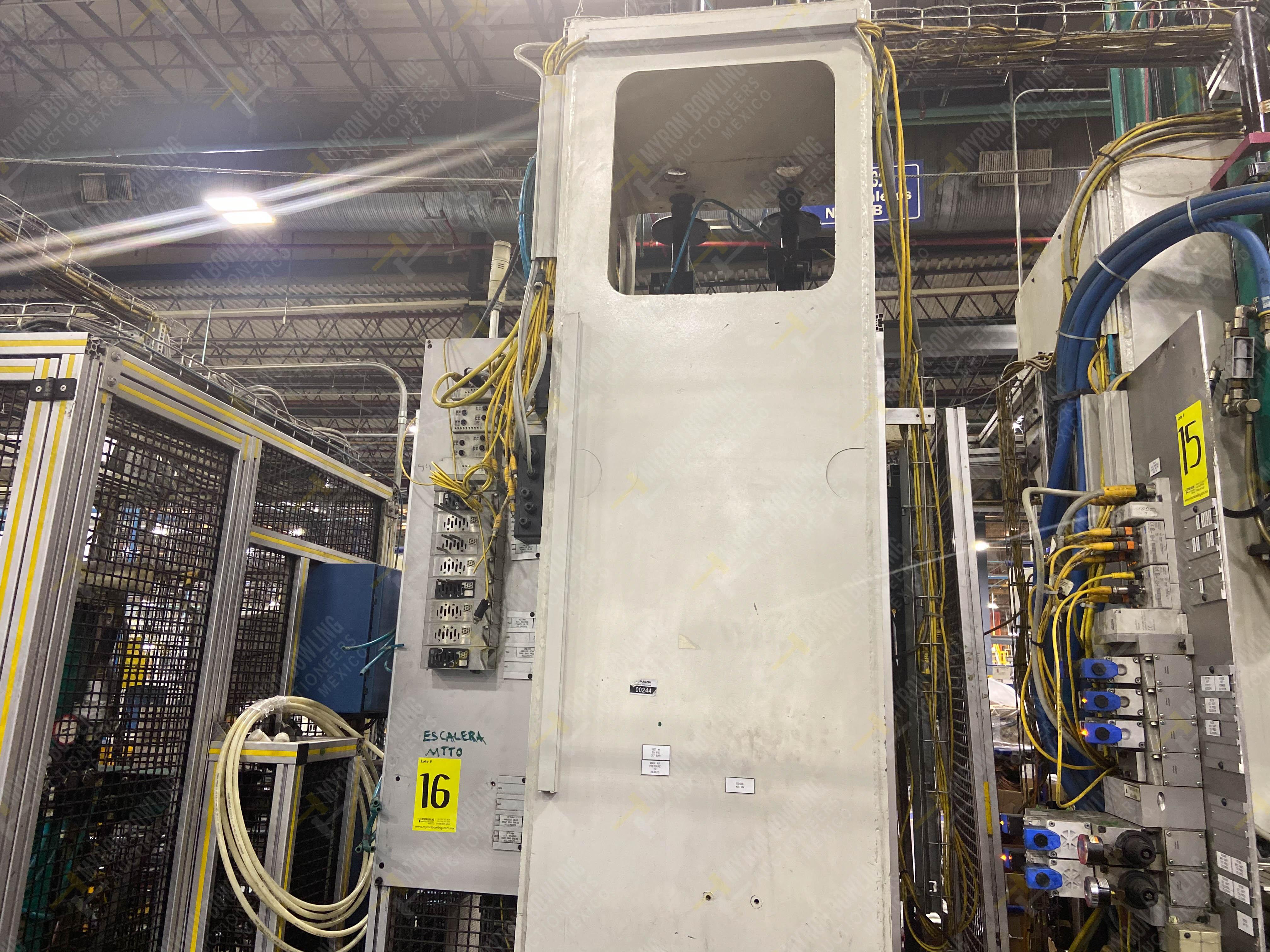 Estación semiautomática para operación 305D, contiene: Prensa tipo cuello de ganso con dos cilindros - Image 9 of 20