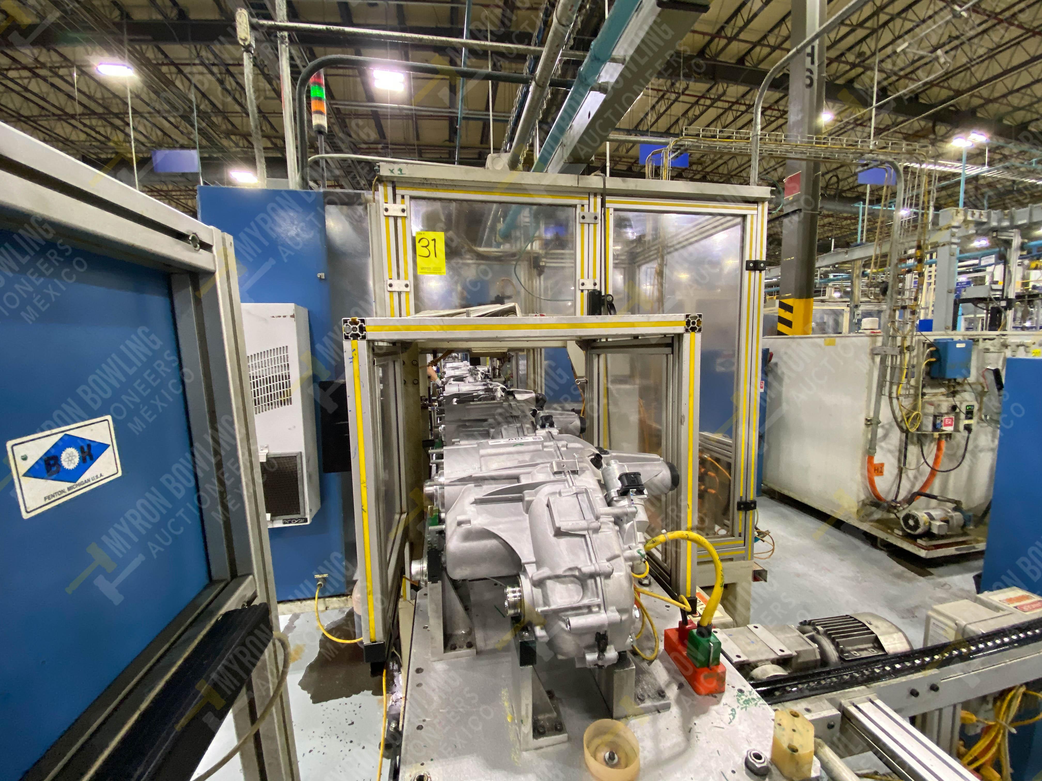 Estación semiautomática para operación 416, contiene: Sistema de llenado de aceite - Image 7 of 20