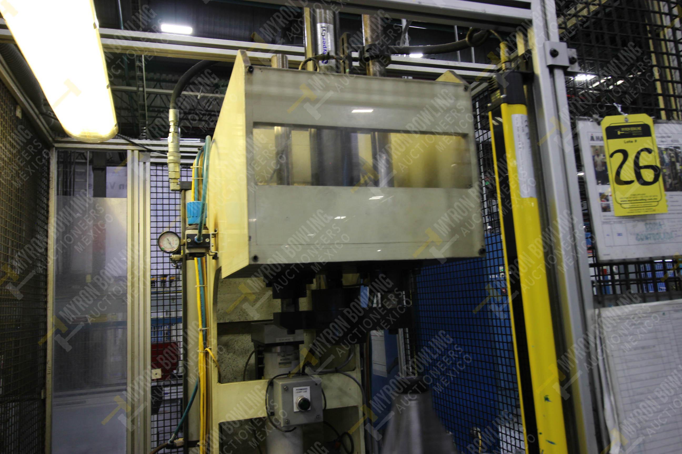 Estación manual para operación 383, contiene: Prensa marca PROMESS en estructura de placa de acero - Image 16 of 27