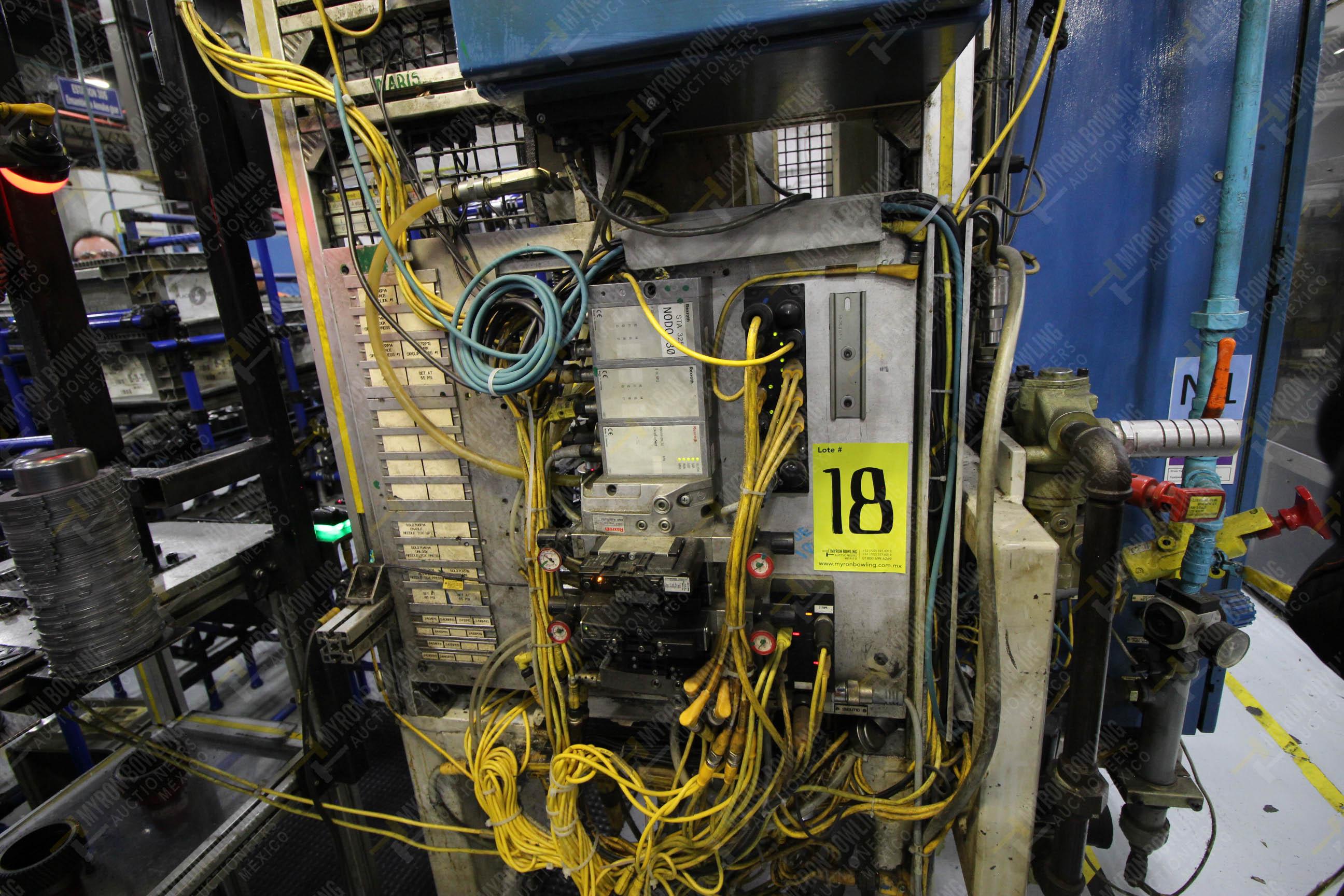 Estación semiautomática para operación 325, contiene: Prensa con dos cilindros marca TOX - Image 13 of 24