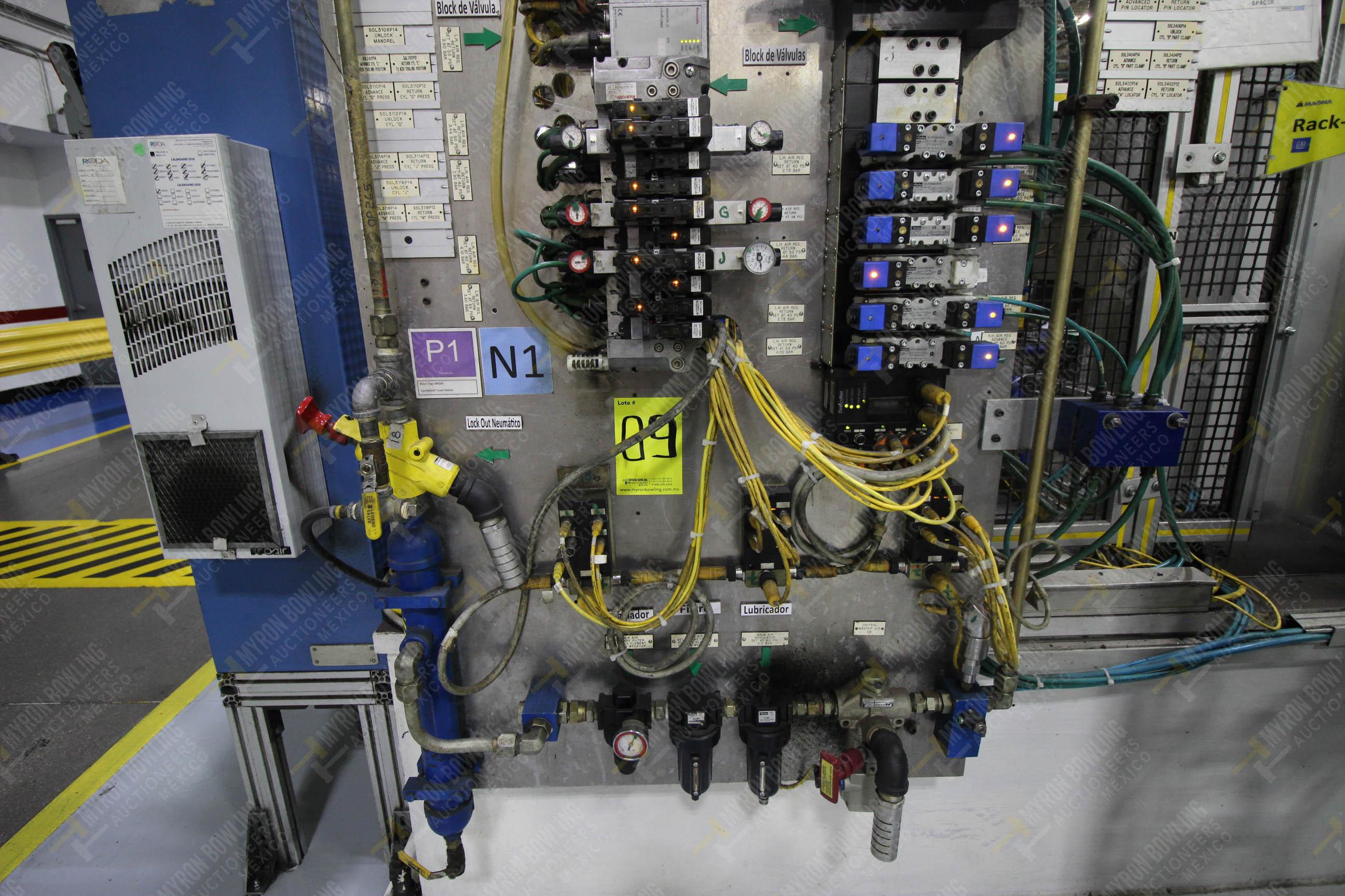 Estación semiautomática para operación 265A y 265B de ensamble de resorte, candado y ponchado - Image 14 of 30