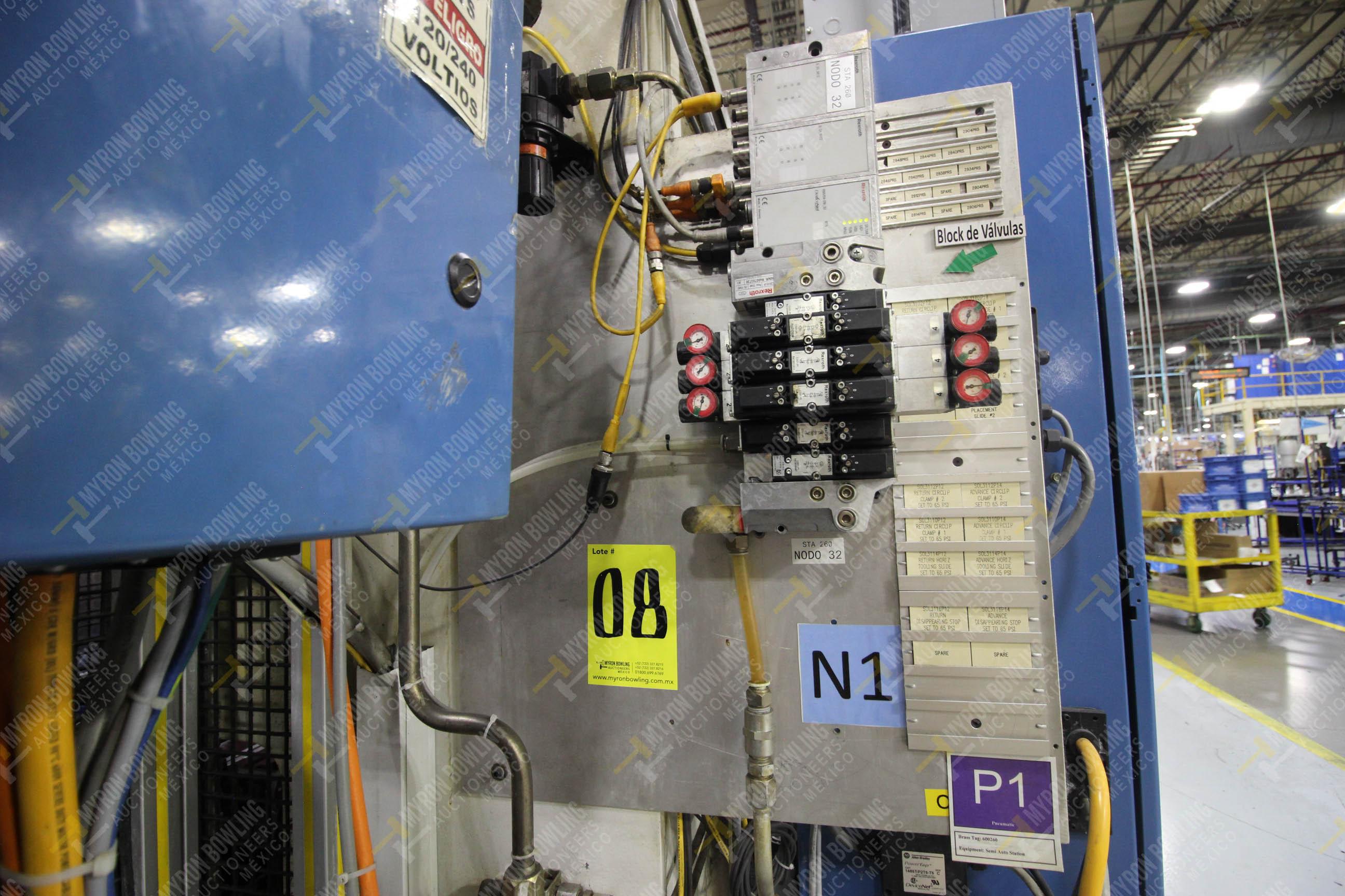 Estación semiautomática para operación 260 de ensamble - Image 16 of 20