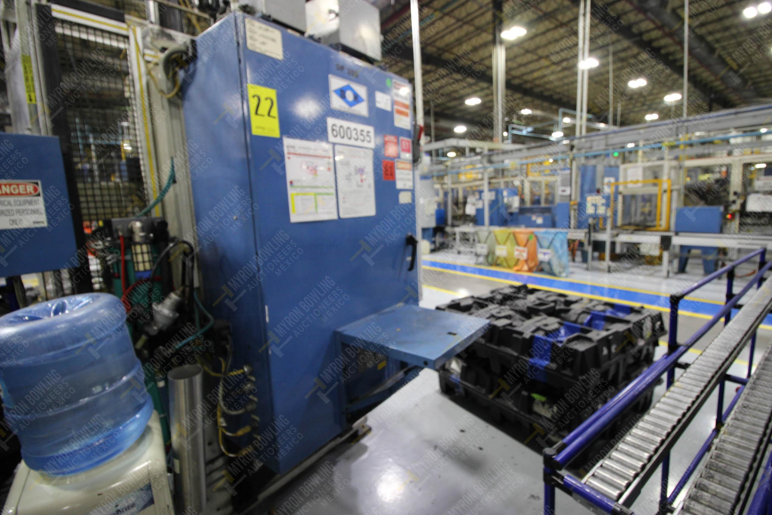 Estación semiautomática para operación 355A, contiene: Prensa en estructura de placa de acero - Image 25 of 36