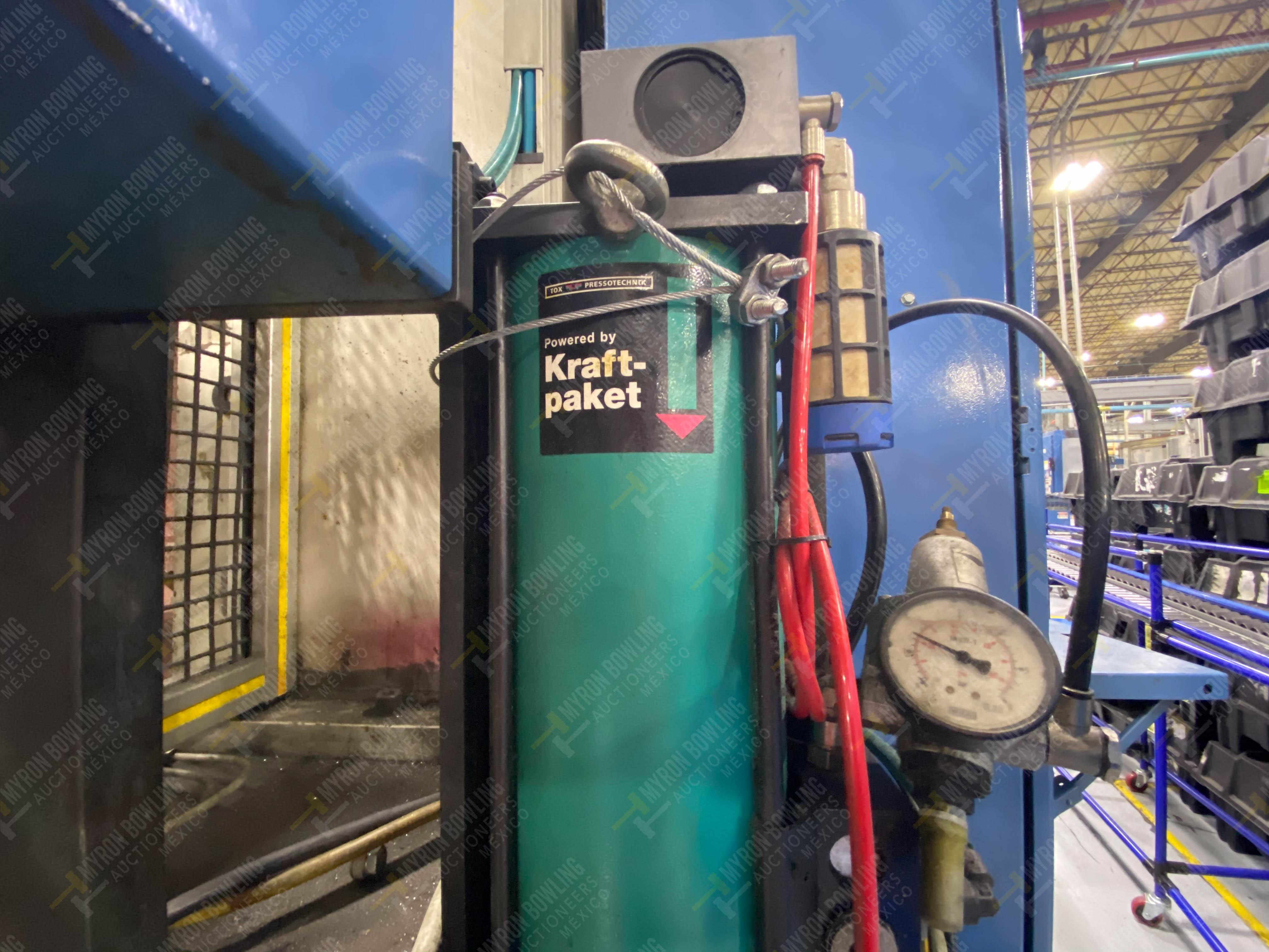 Estación semiautomática para operación 355A, contiene: Prensa en estructura de placa de acero - Image 29 of 36