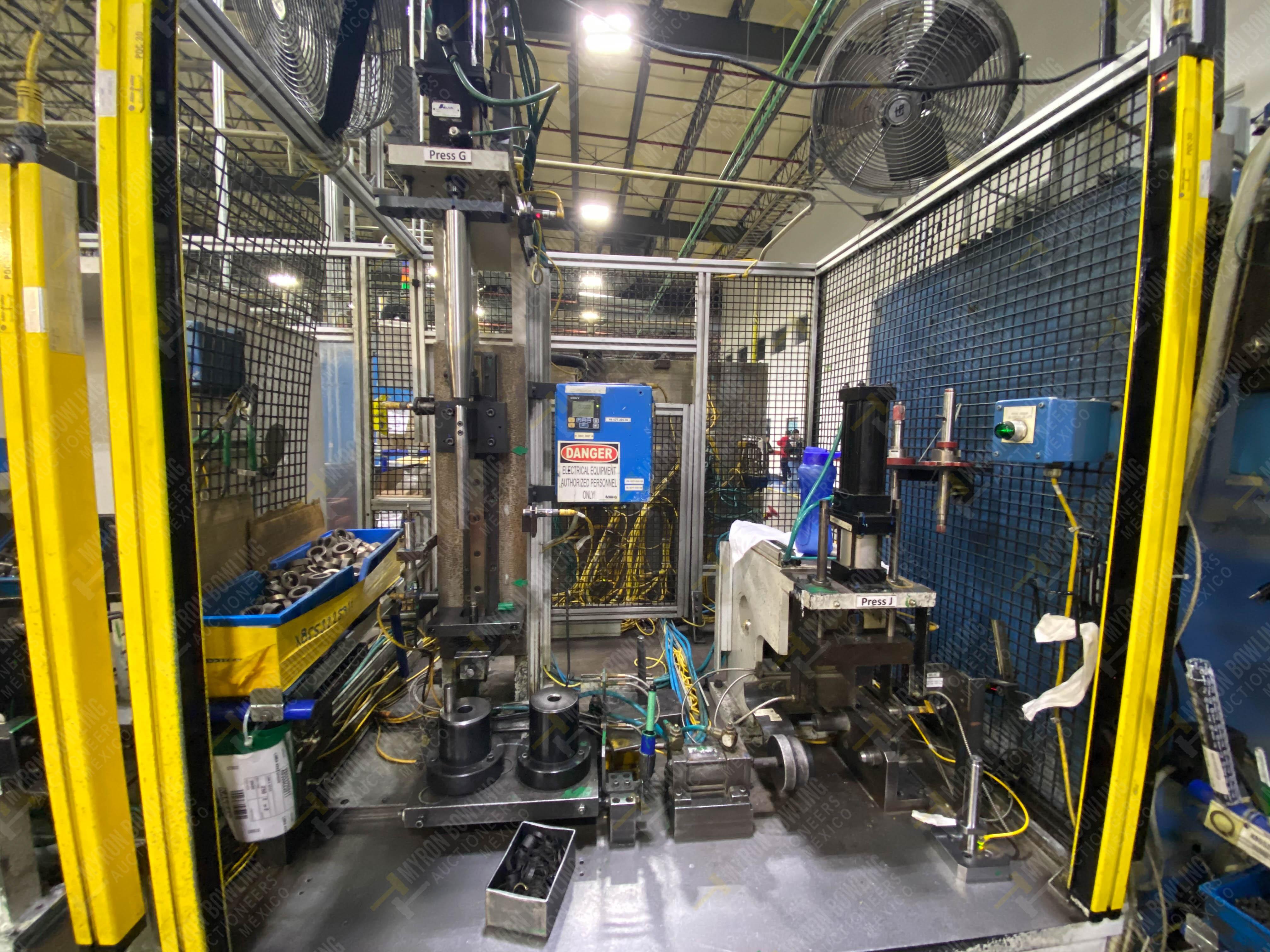 Estación semiautomática para operación 265A y 265B de ensamble de resorte, candado y ponchado - Image 4 of 30