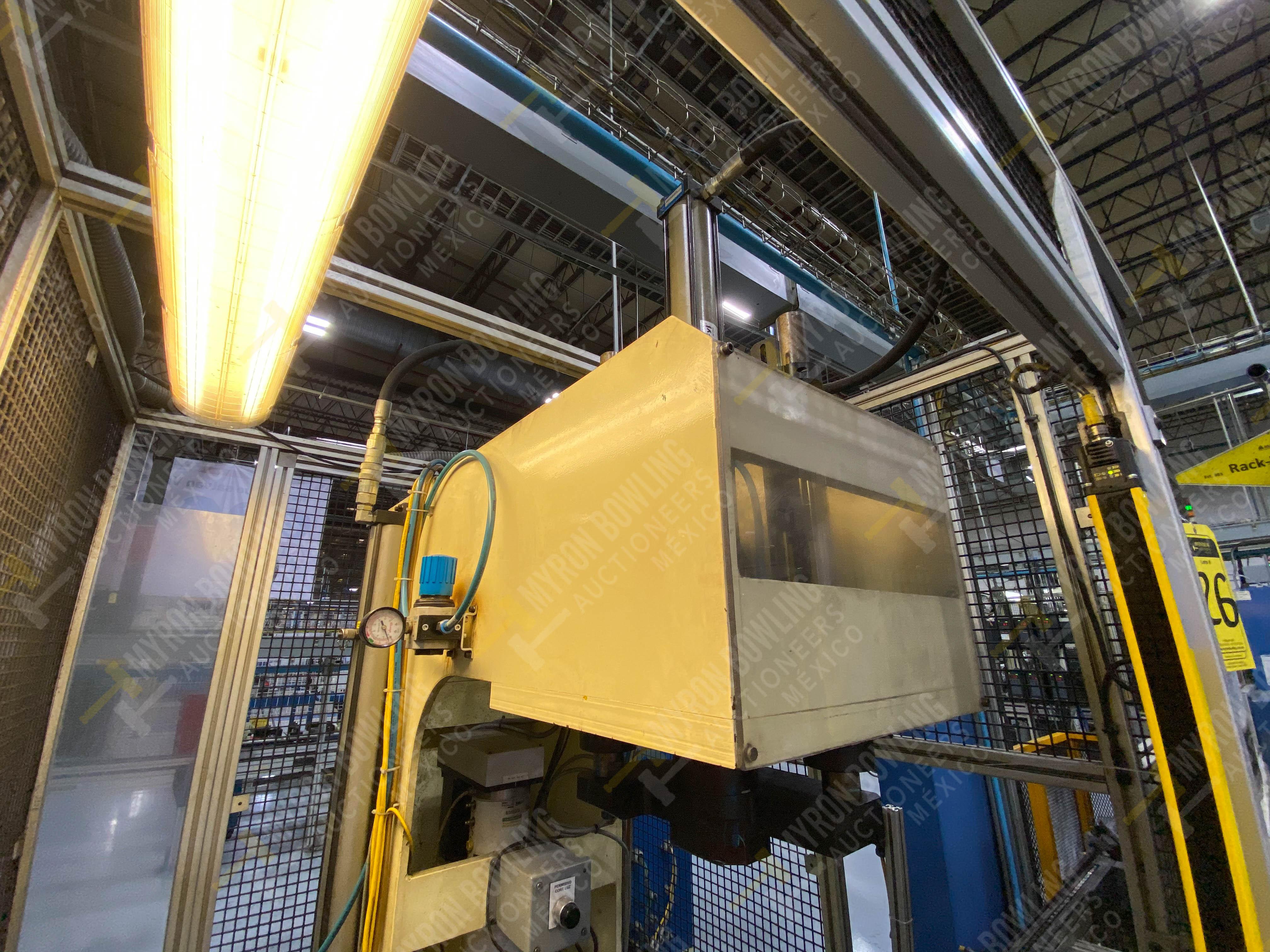 Estación manual para operación 383, contiene: Prensa marca PROMESS en estructura de placa de acero - Image 10 of 27