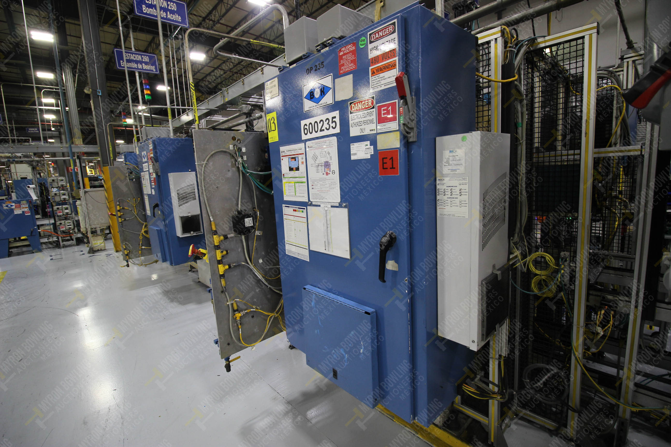 Estación semiautomáticapara operación 235 de ensamble de candado - Image 20 of 22