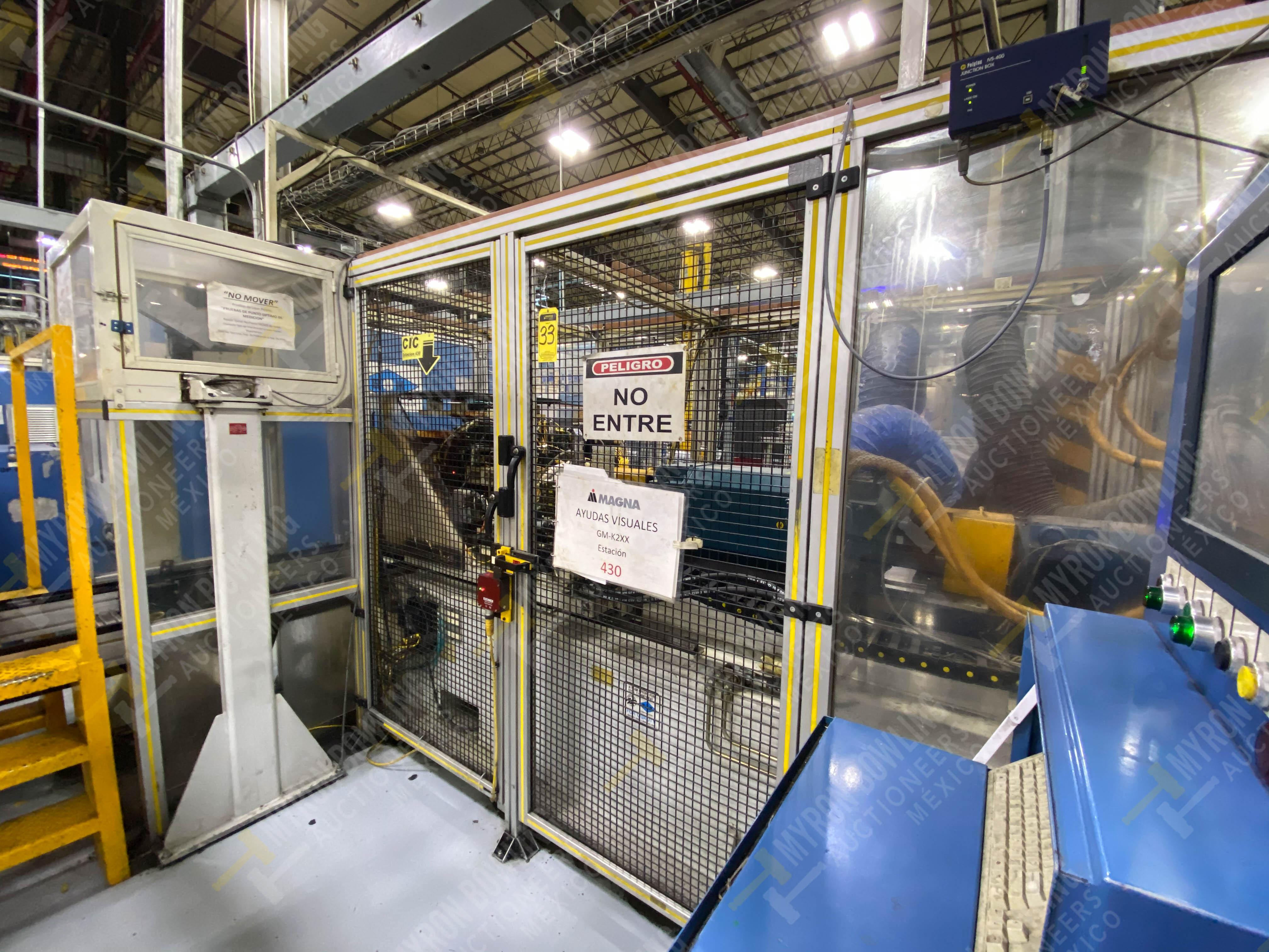 Estación semiautomática para operación 430, contiene: Máquina dinamómetro con sistema de revolución - Image 4 of 32