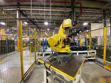 Robot con capacidad de carga de 50-100 Kg, controlador de robot y teach pendant - Image 7 of 22