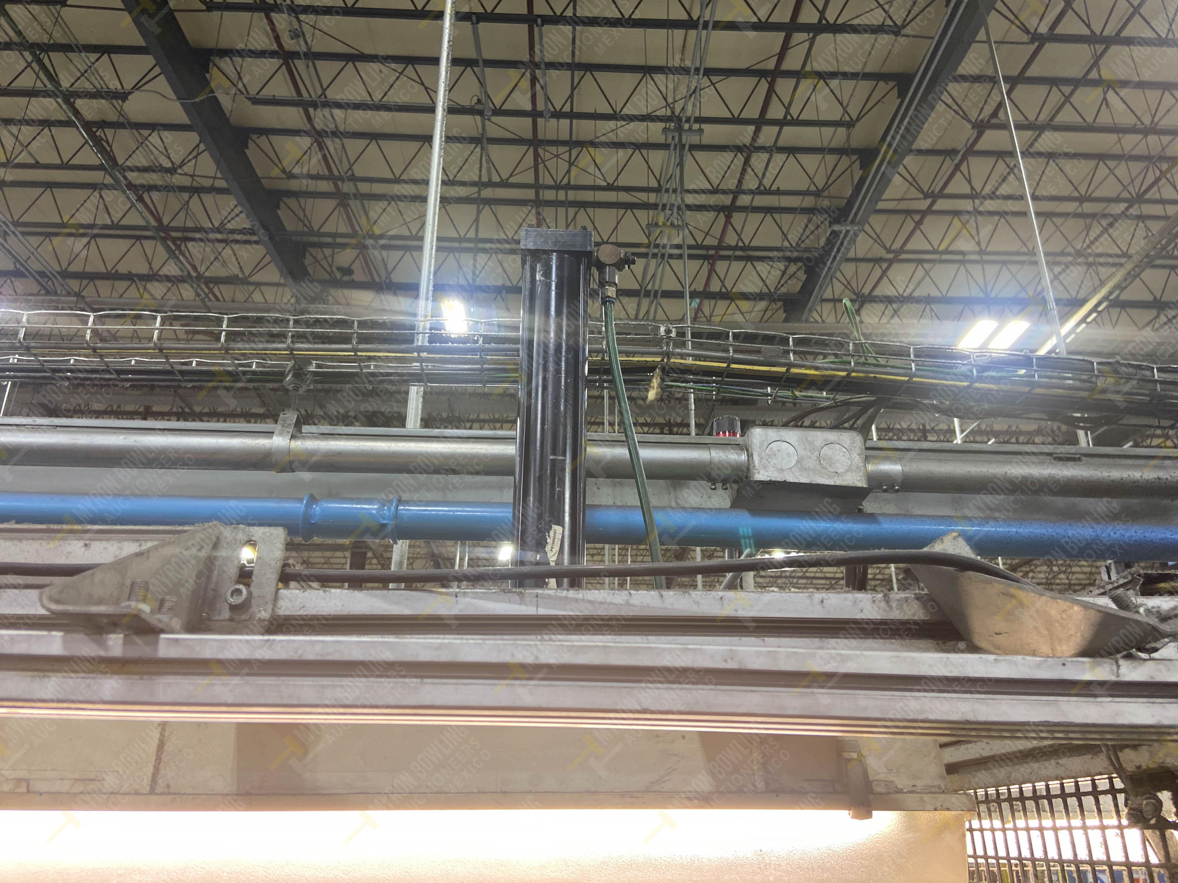 Estación semiautomática para operación 340, contiene: Prensa en estructura de placa de acero - Image 17 of 32