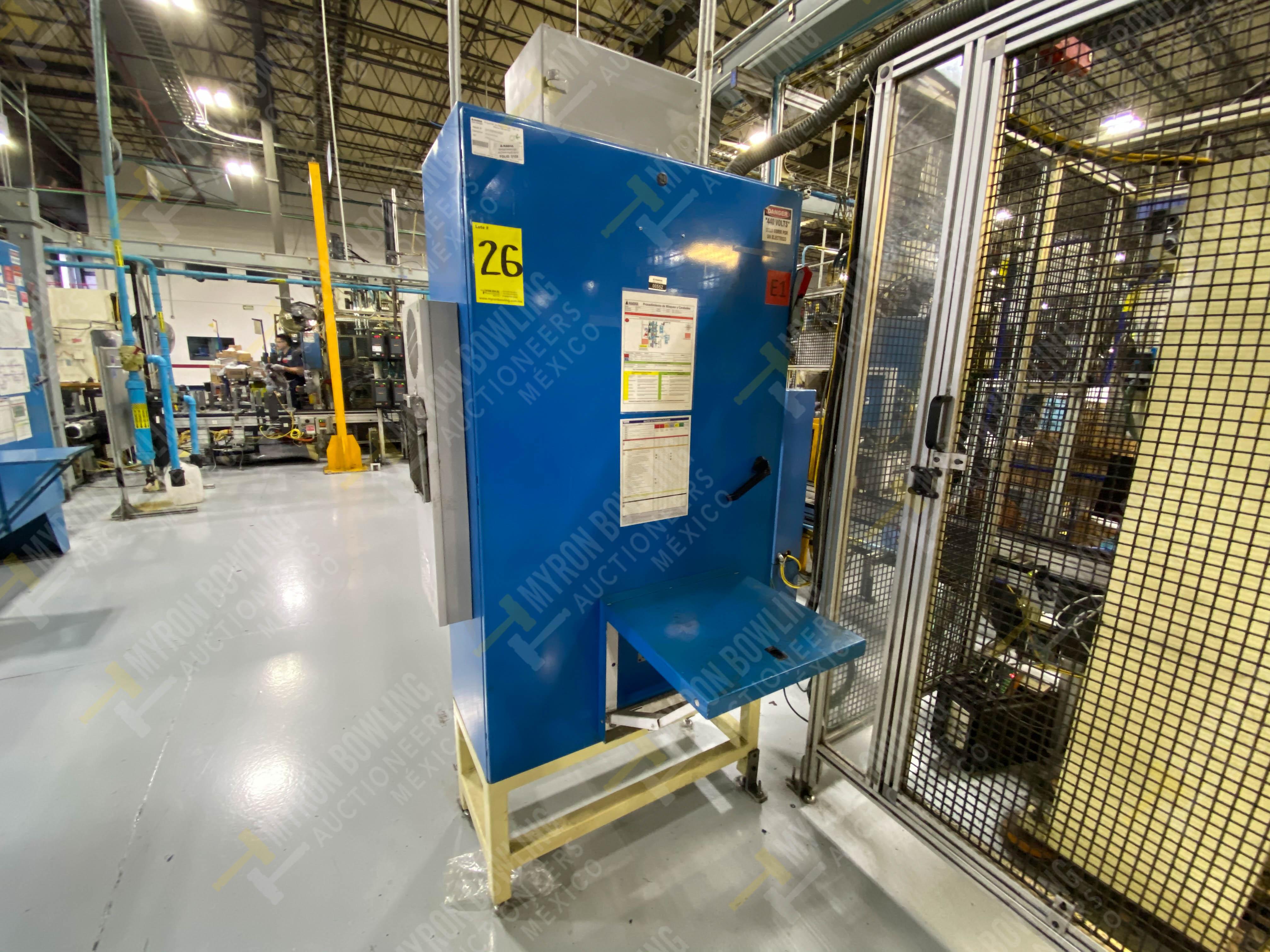 Estación manual para operación 383, contiene: Prensa marca PROMESS en estructura de placa de acero - Image 22 of 27