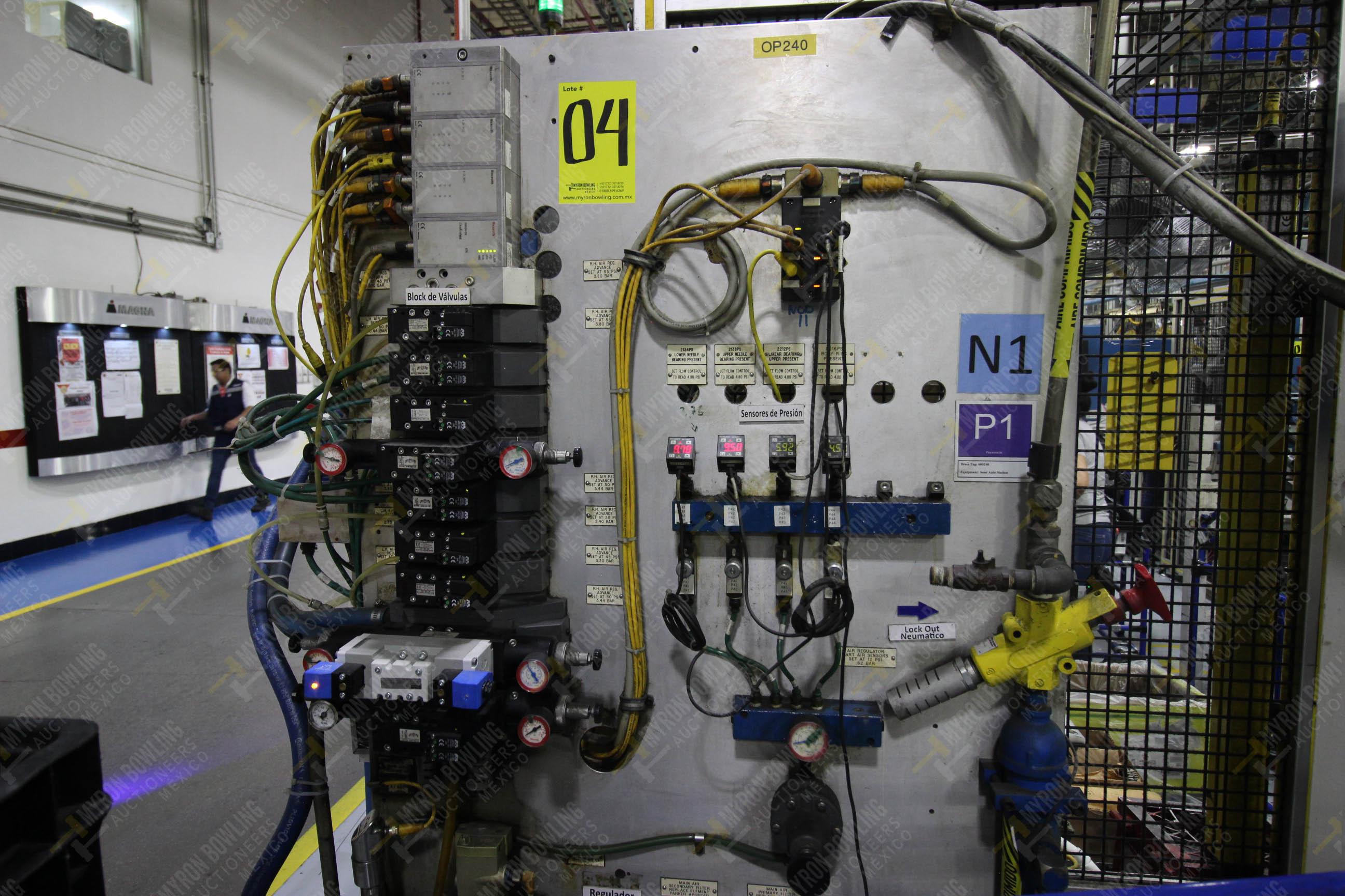 Estación semiautomática para operación 240A de ensamble de balero - Image 11 of 29