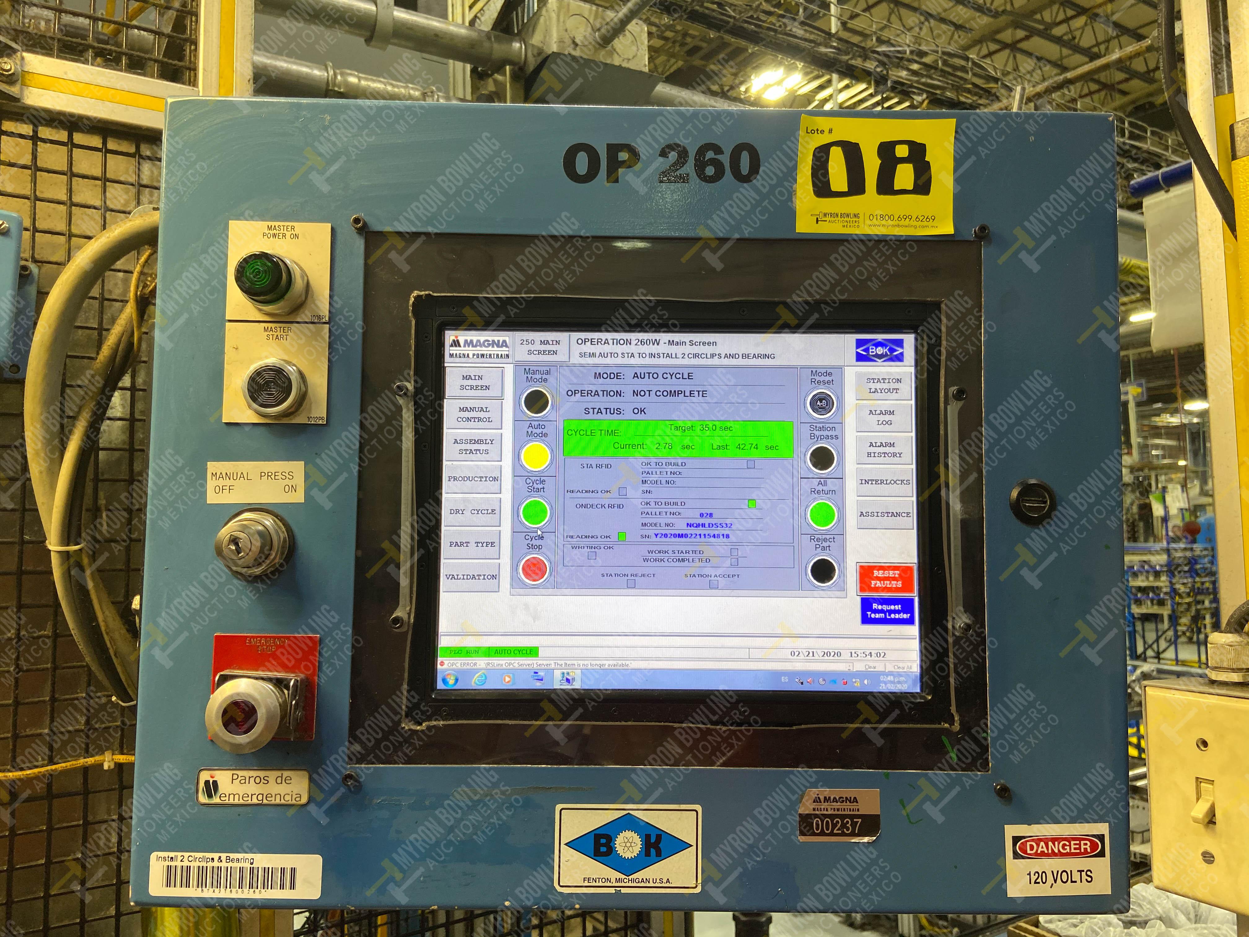 Estación semiautomática para operación 260 de ensamble - Image 18 of 20