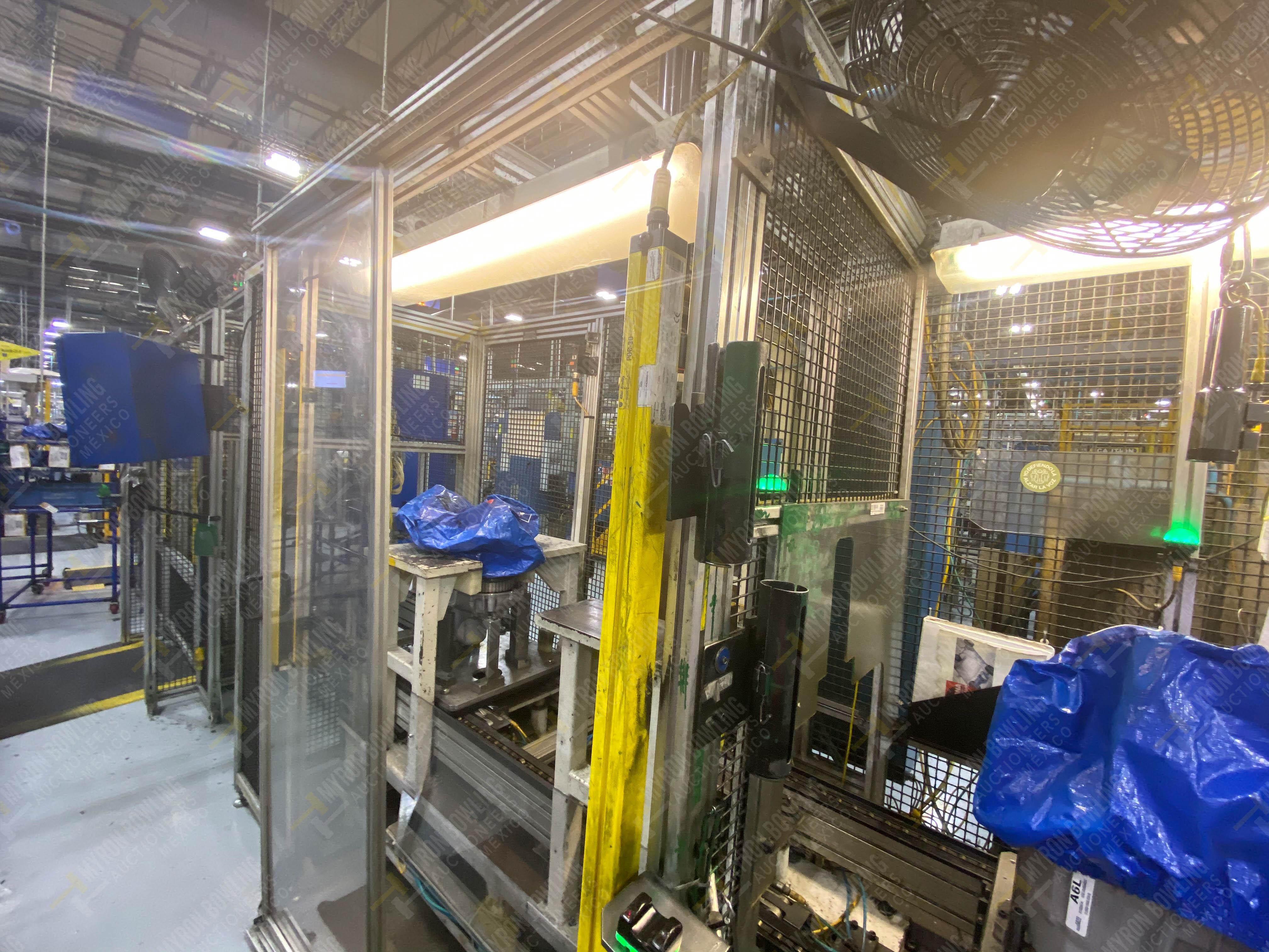 Estación semiautomática para operación 340, contiene: Prensa en estructura de placa de acero - Image 10 of 32