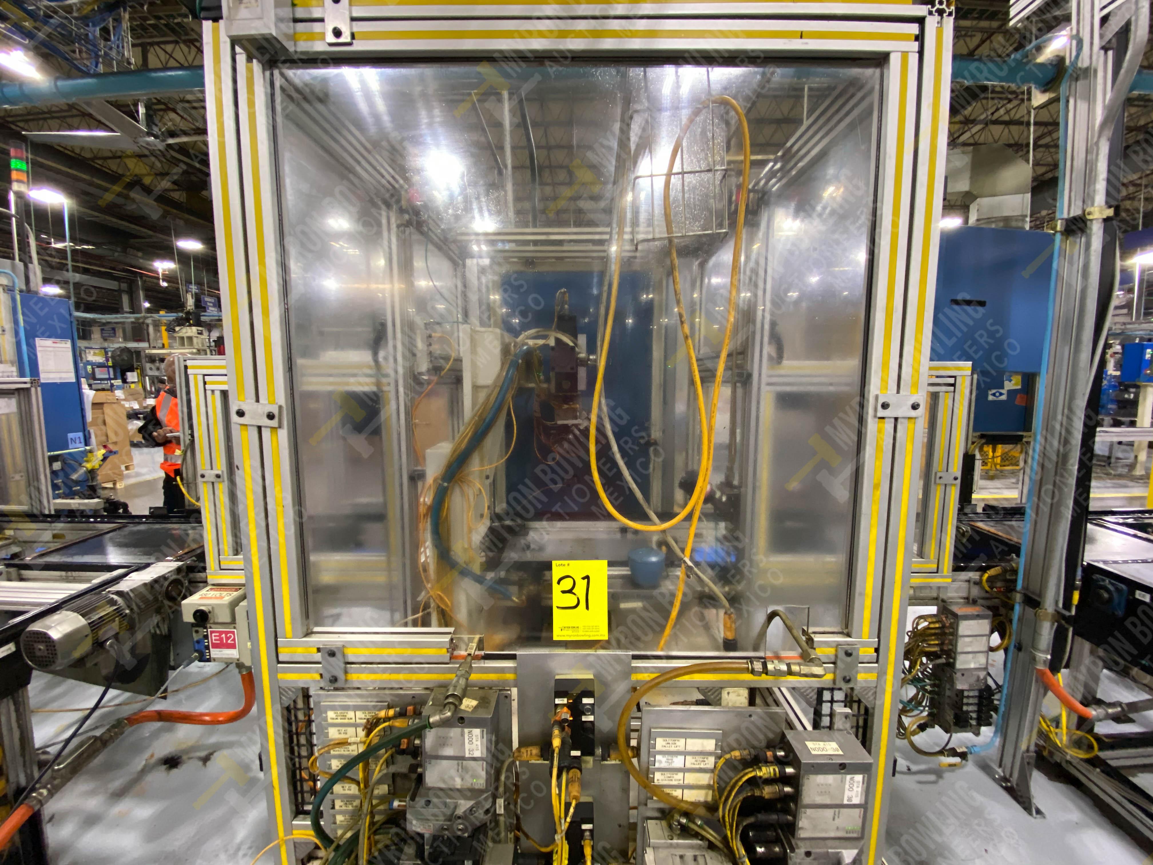 Estación semiautomática para operación 416, contiene: Sistema de llenado de aceite - Image 8 of 20