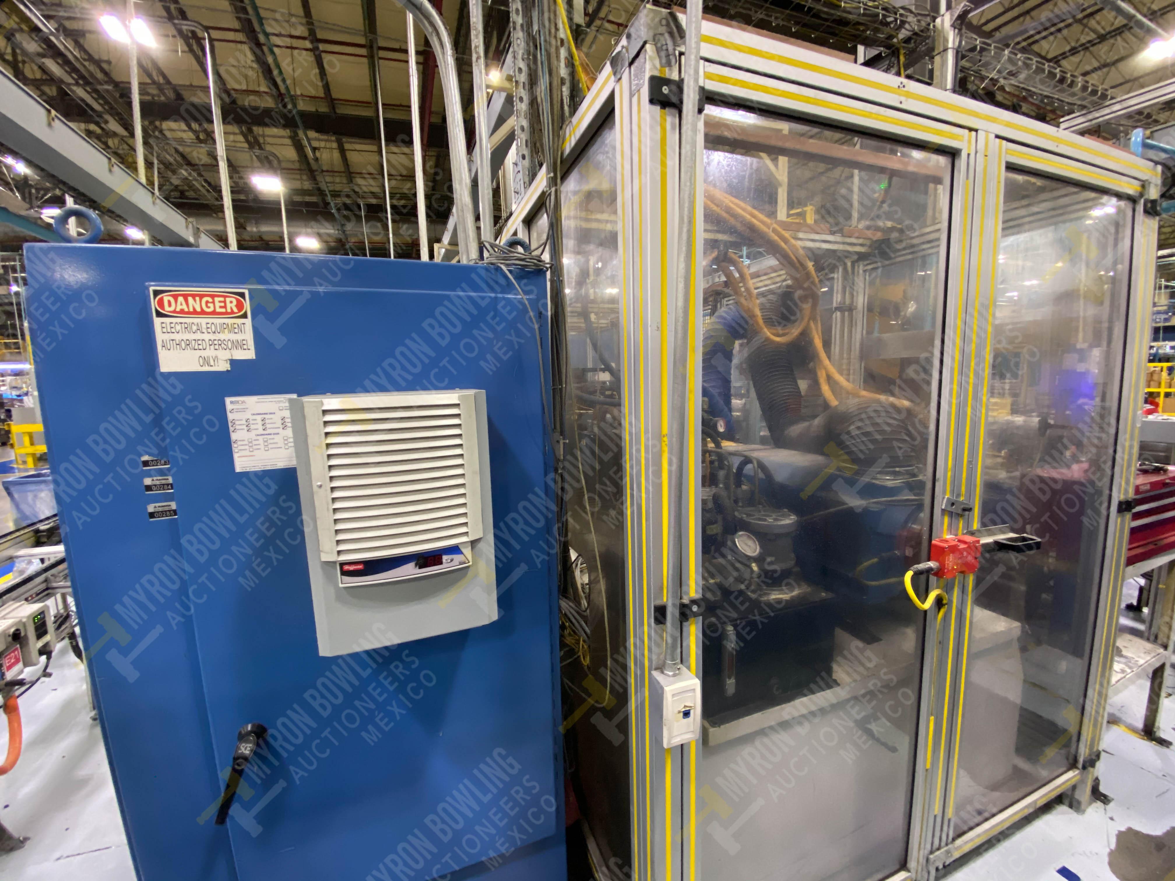 Estación semiautomática para operación 430, contiene: Máquina dinamómetro con sistema de revolución - Image 5 of 32