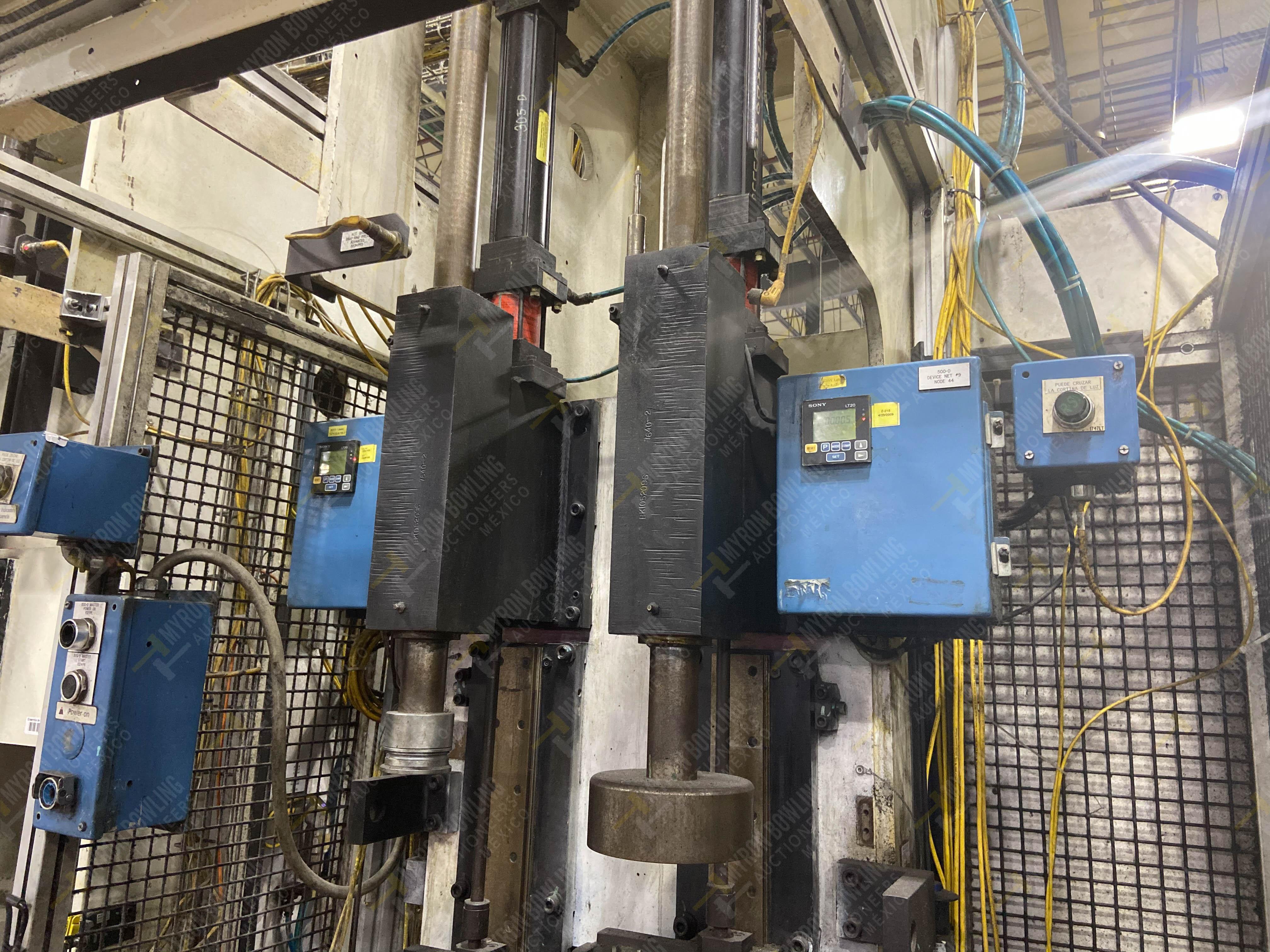 Estación semiautomática para operación 305D, contiene: Prensa tipo cuello de ganso con dos cilindros - Image 3 of 20