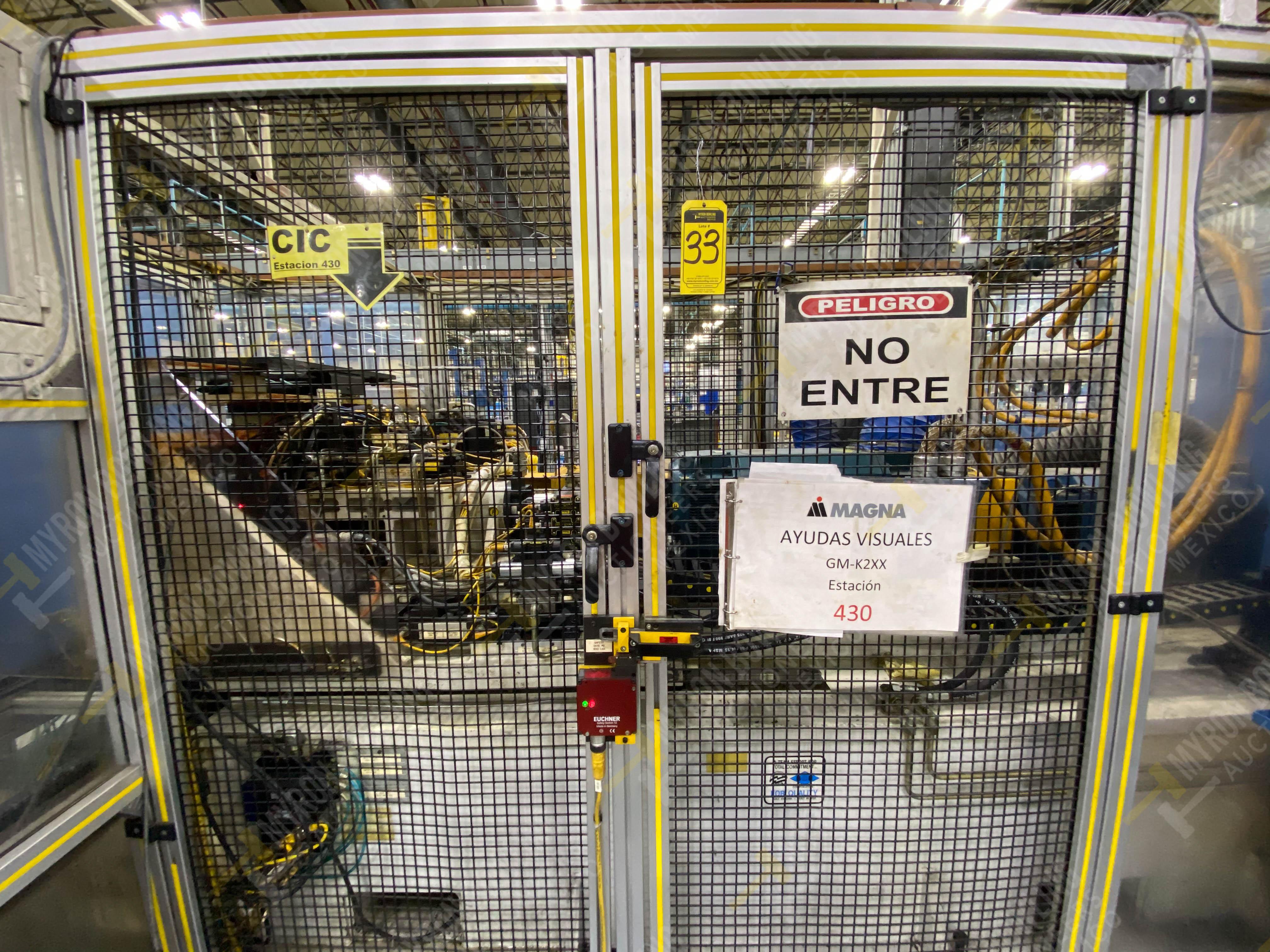 Estación semiautomática para operación 430, contiene: Máquina dinamómetro con sistema de revolución - Image 3 of 32