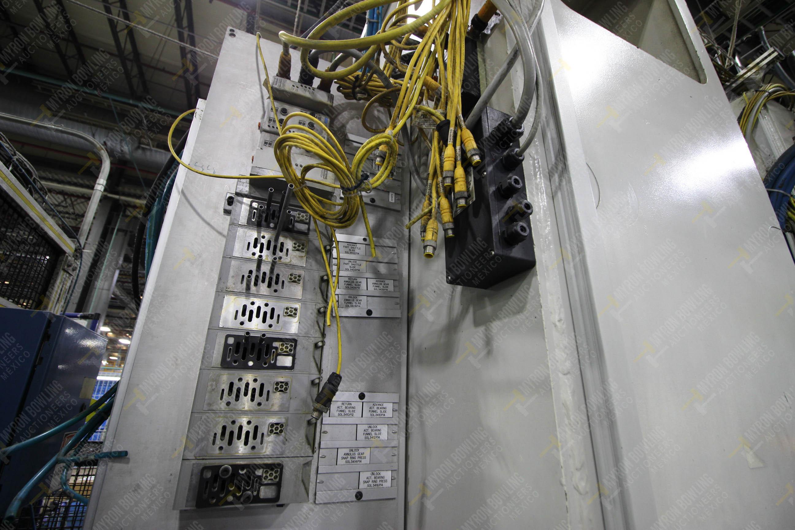 Estación semiautomática para operación 305D, contiene: Prensa tipo cuello de ganso con dos cilindros - Image 12 of 20