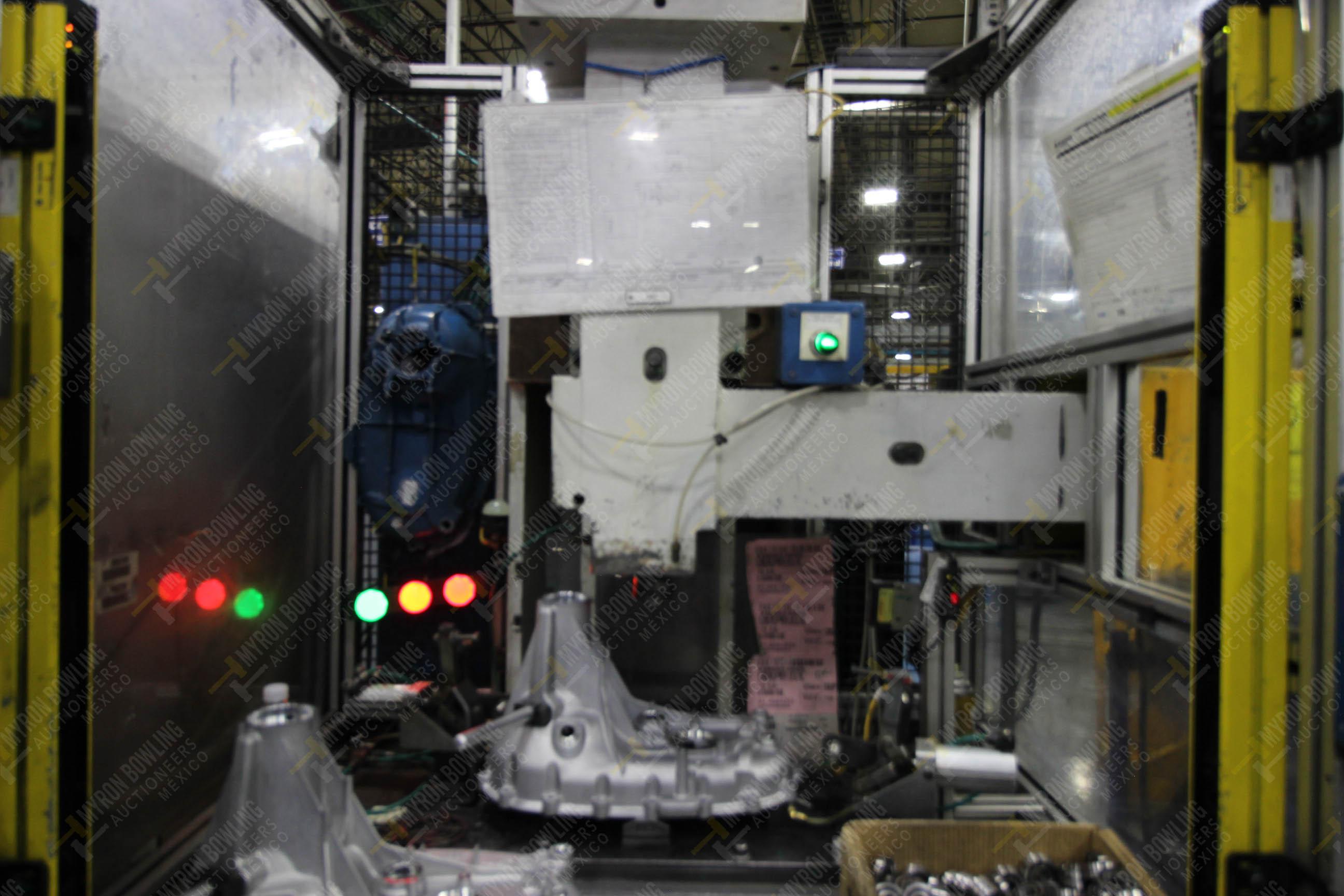 Estación semiautomática para operación 355A, contiene: Prensa en estructura de placa de acero - Image 10 of 36