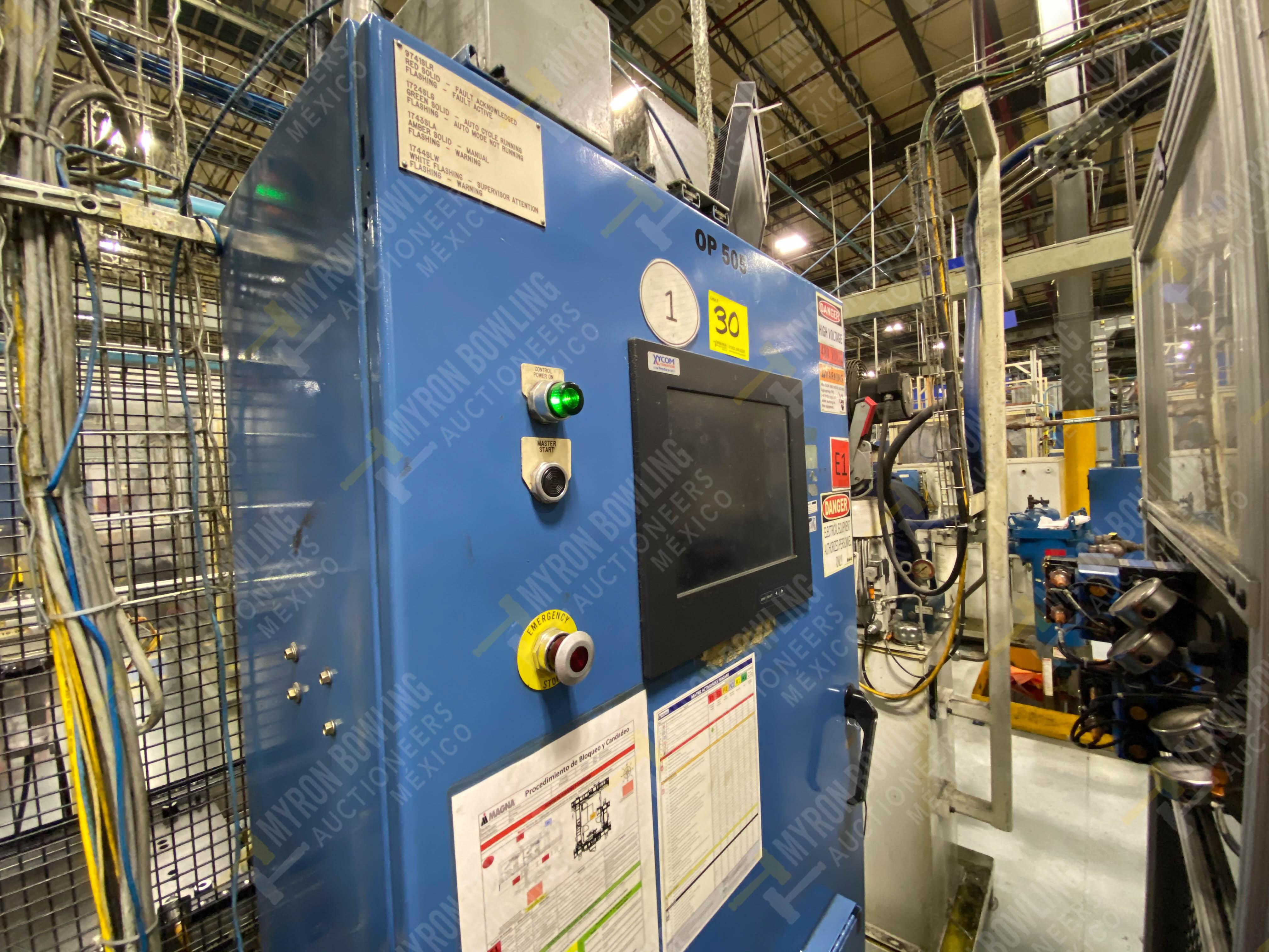 Estación semiautomática para operación 415, contiene: Máquina pesadora de piezas con 1 cilindro - Image 3 of 16