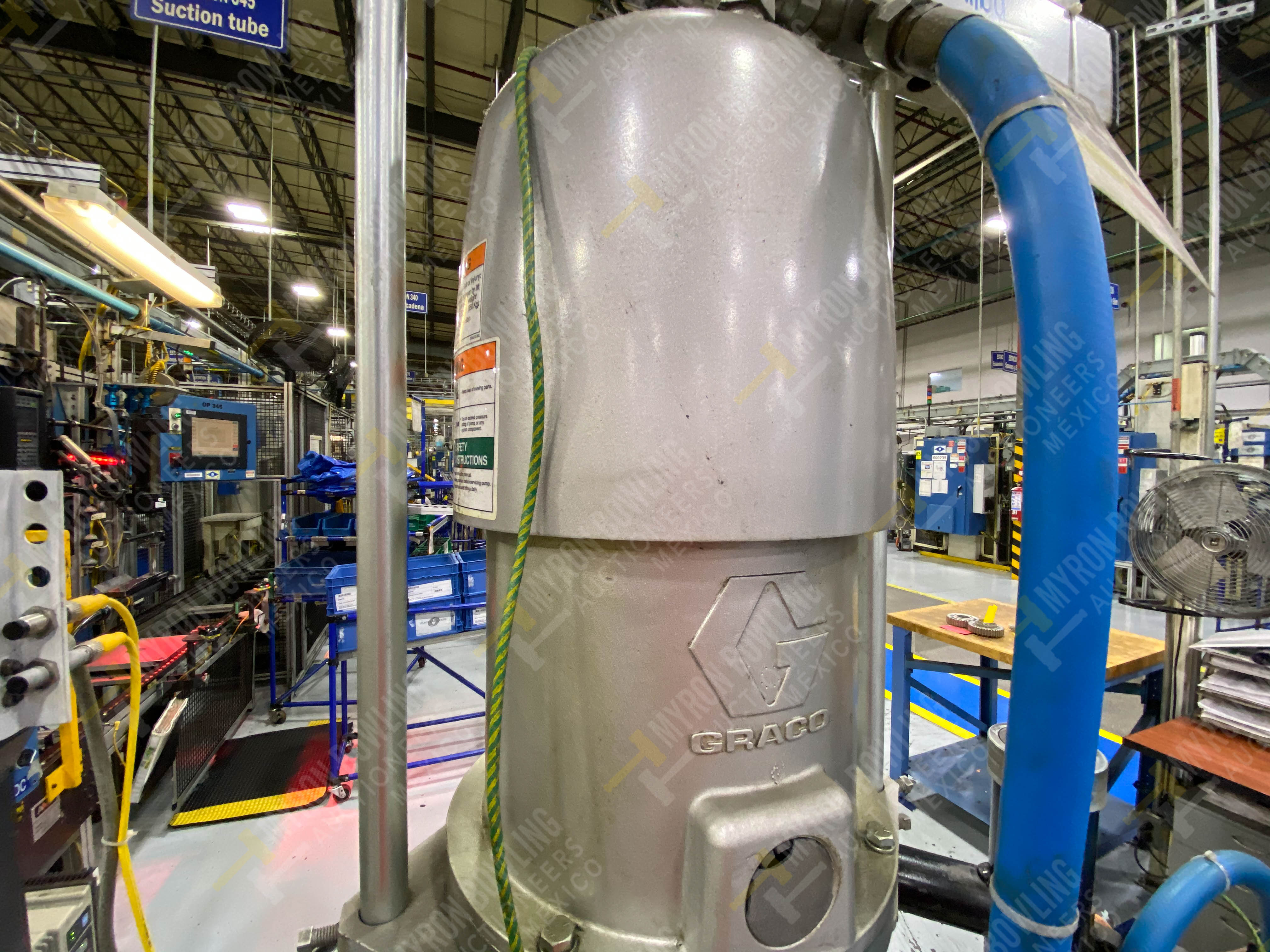 Dos sistemas de dispensador de sellador RTV (bombas) marca Graco Bulldog, 8.3 L/min max - Image 7 of 12