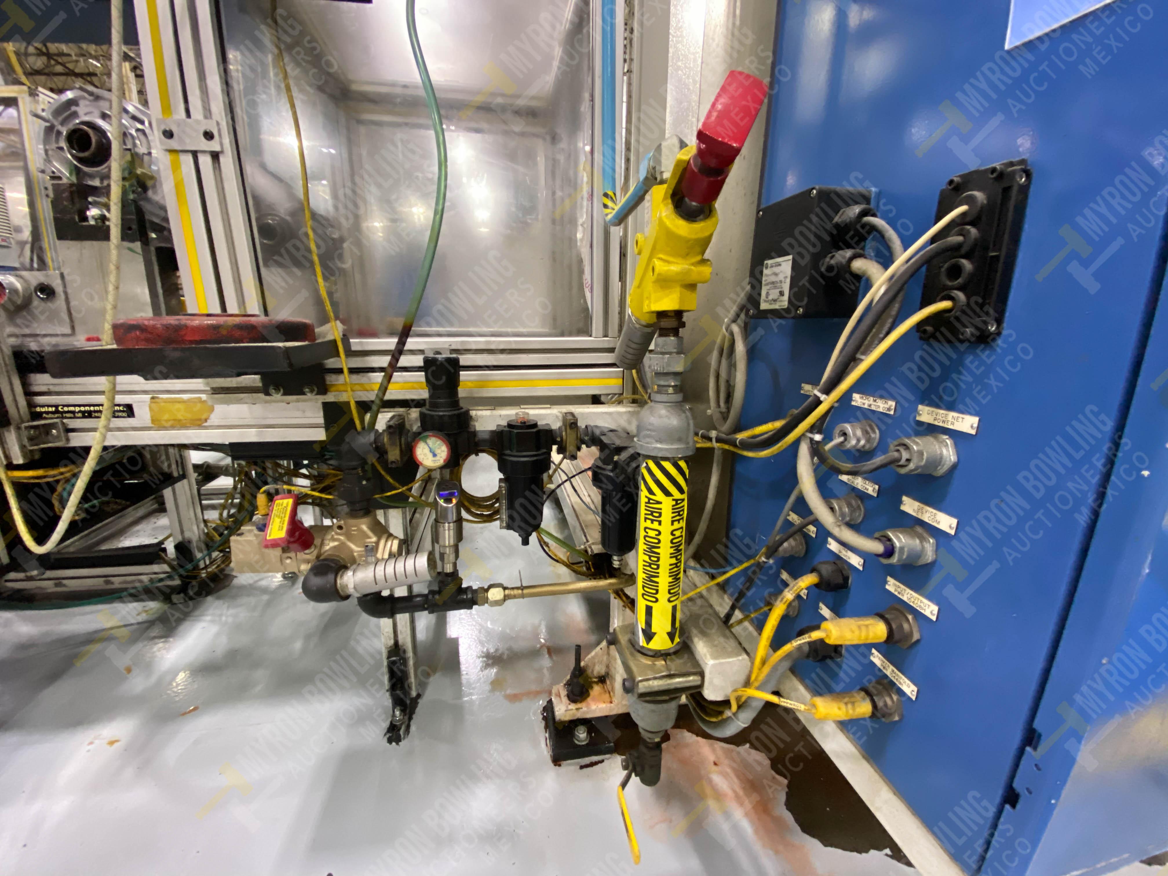 Estación semiautomática para operación 416, contiene: Sistema de llenado de aceite - Image 17 of 20