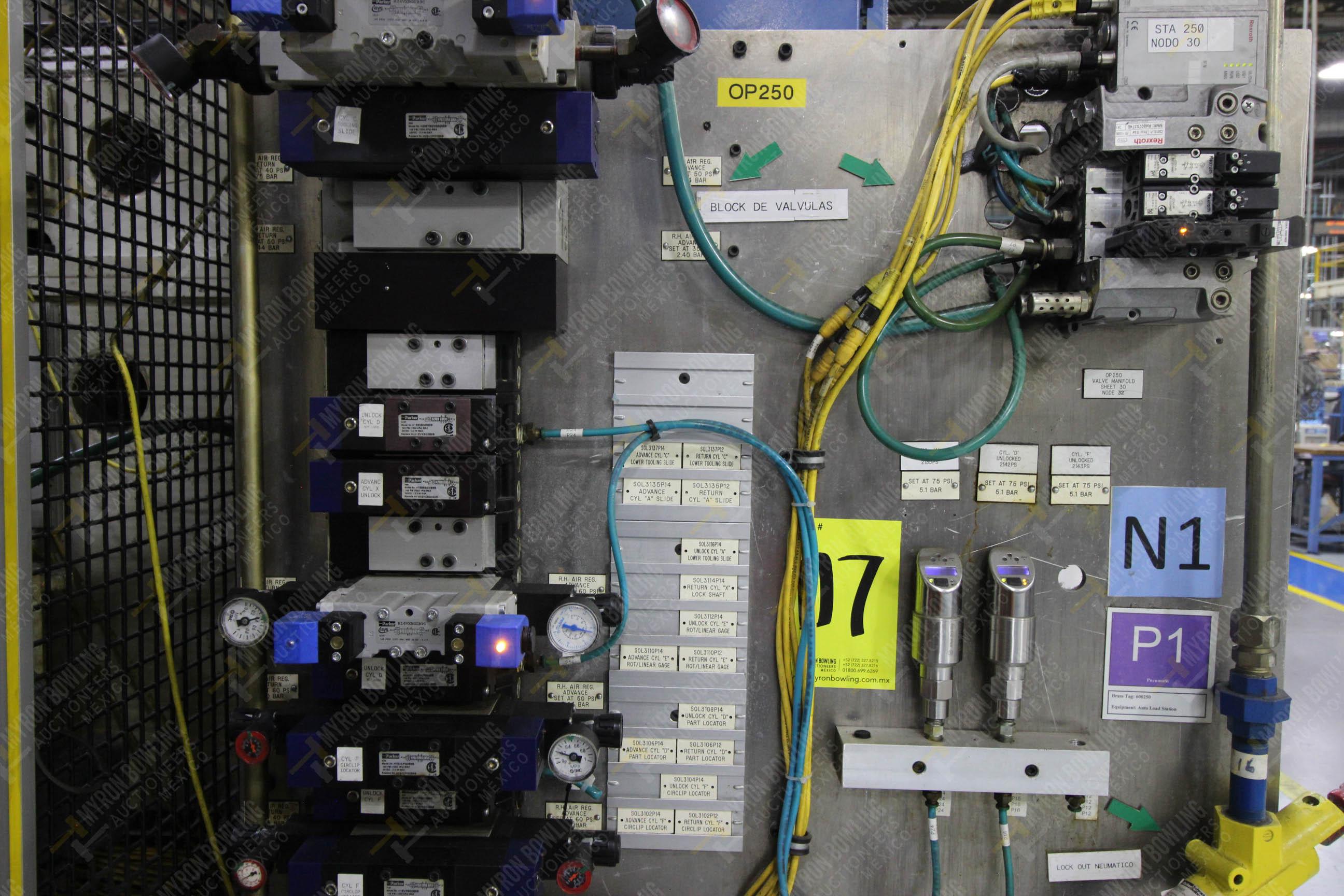 Estación semiautomática para operación 250 de ensamble de candado, contiene - Image 14 of 21