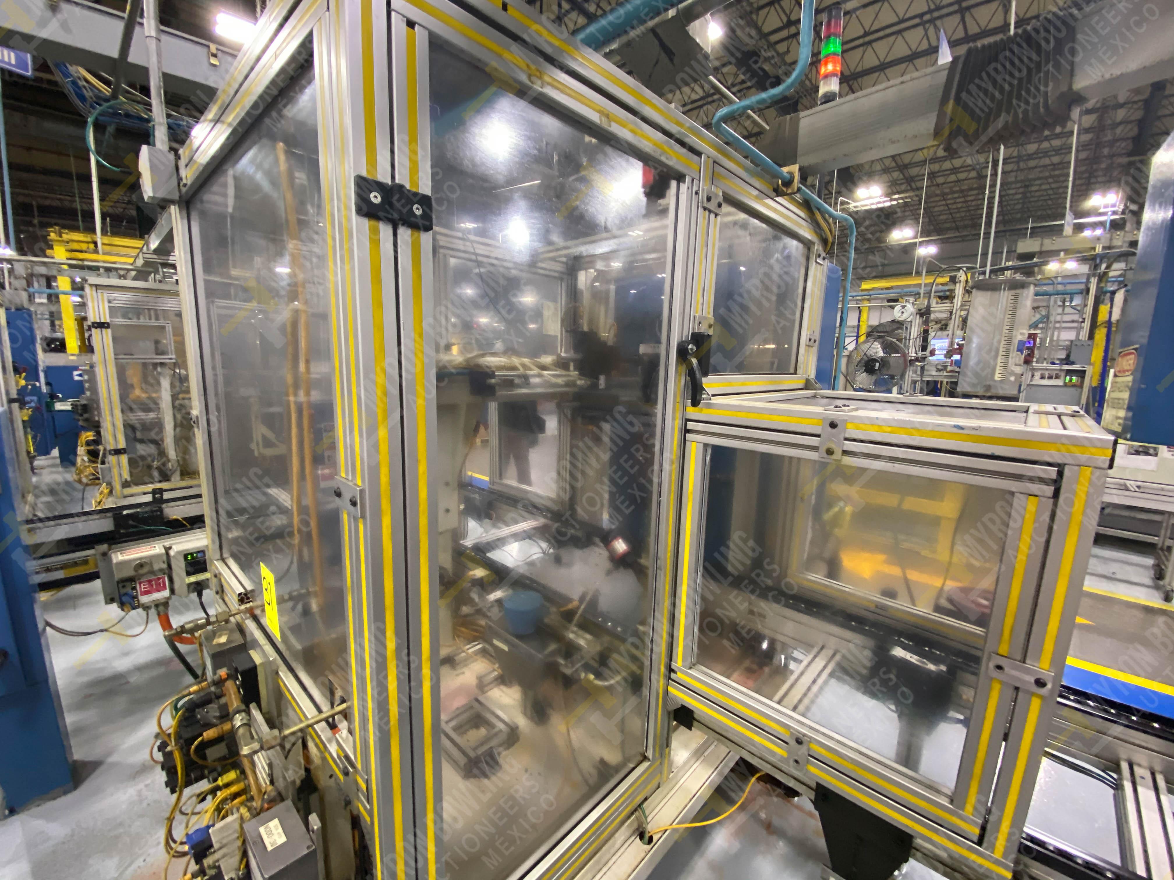 Estación semiautomática para operación 416, contiene: Sistema de llenado de aceite - Image 9 of 20