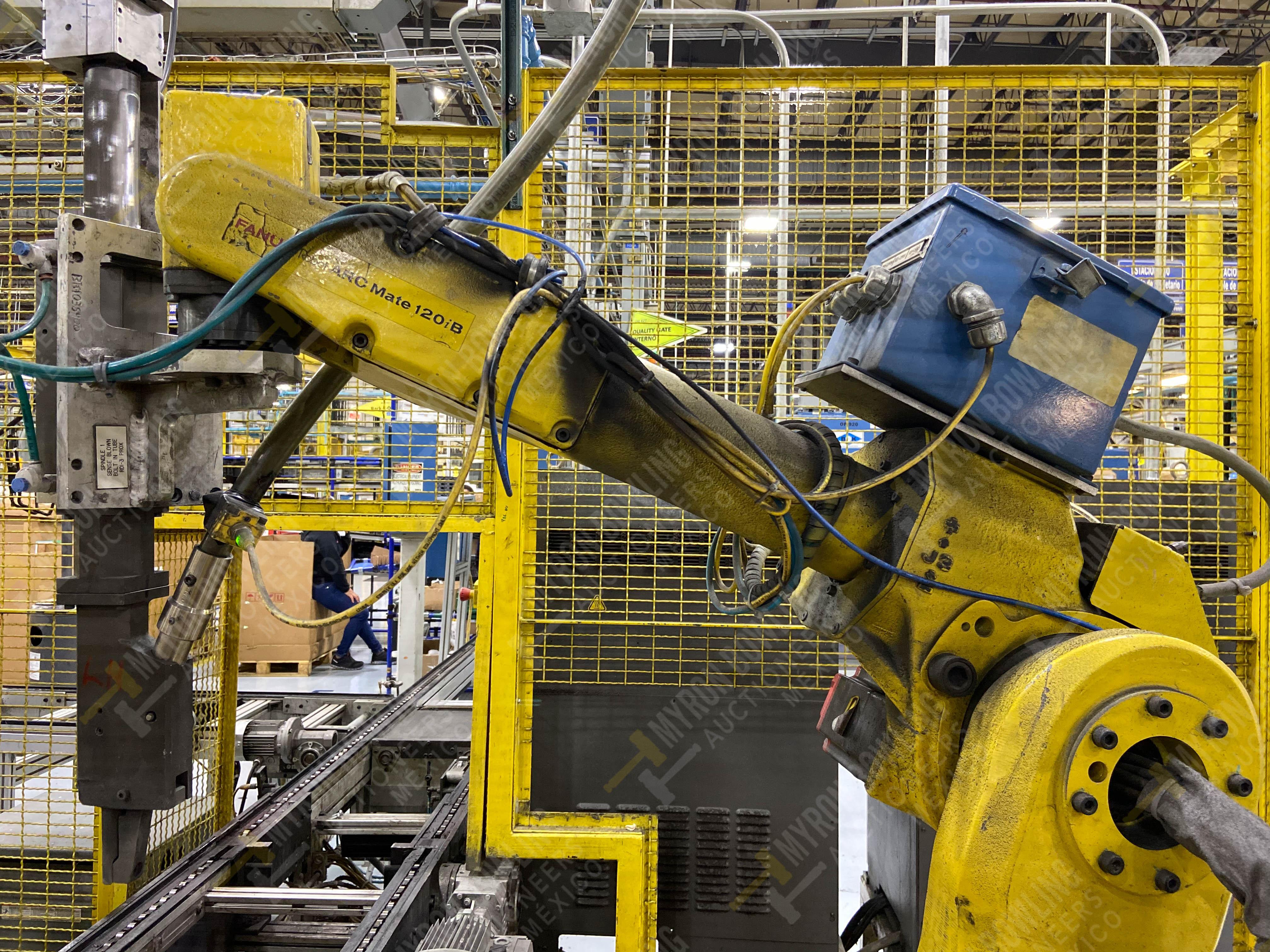 Robot con capacidad de carga de 15-30 Kg, controlador de robot y teach pendant - Image 4 of 17