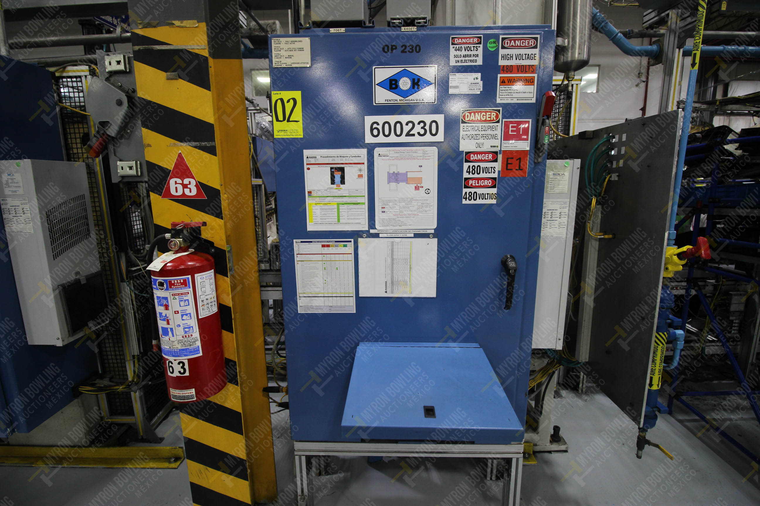 Estación automática para operación 230, para medición de gap - Image 25 of 36