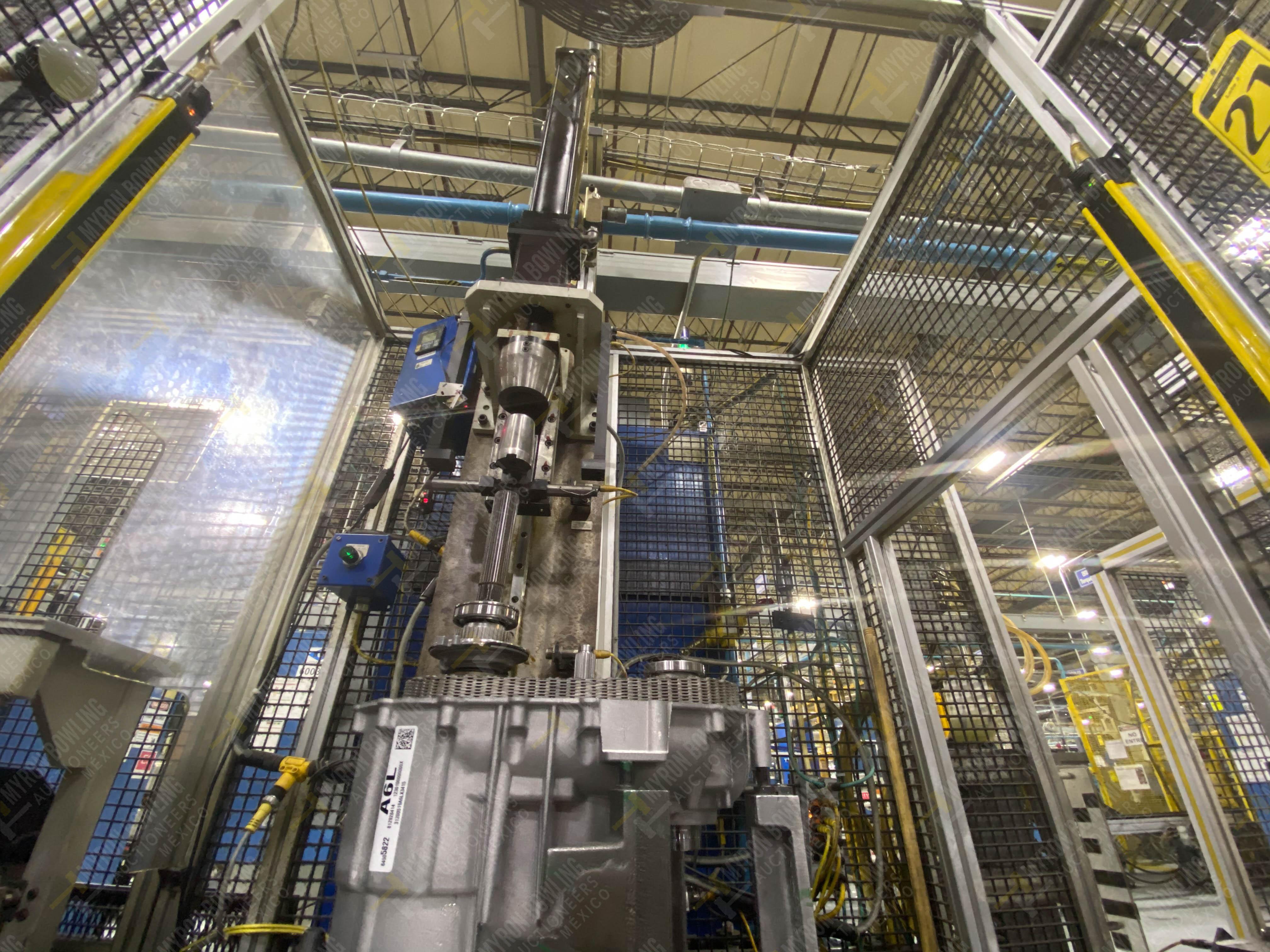 Estación semiautomática para operación 341, contiene: Prensa en estructura de placa de acero - Image 10 of 26