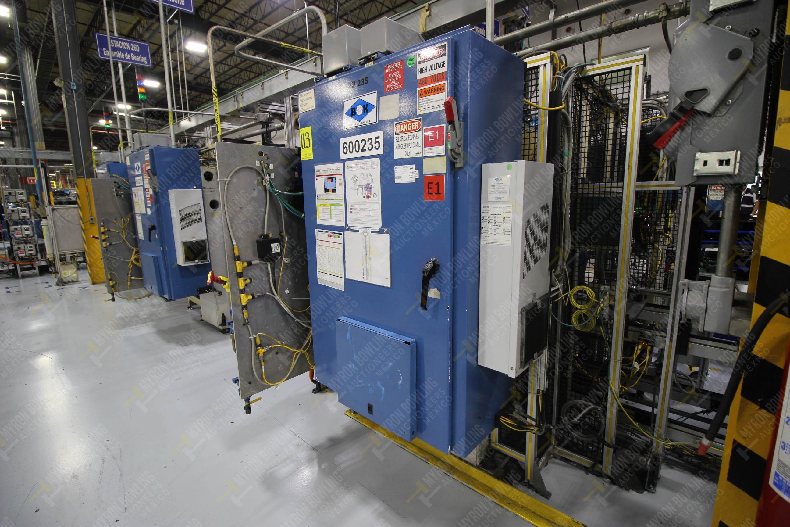 Estación semiautomáticapara operación 235 de ensamble de candado - Image 19 of 22