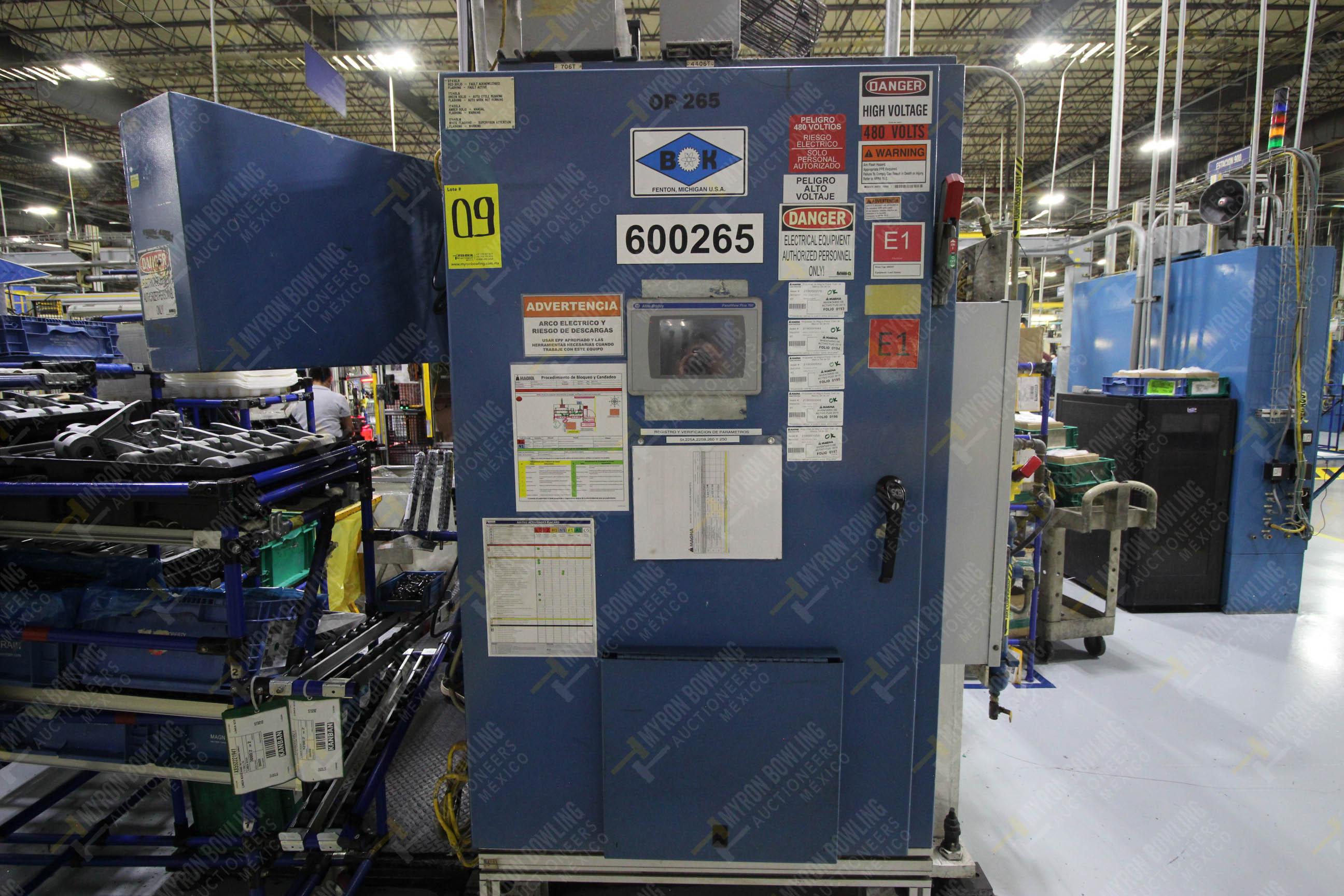Estación semiautomática para operación 265A y 265B de ensamble de resorte, candado y ponchado - Image 22 of 30