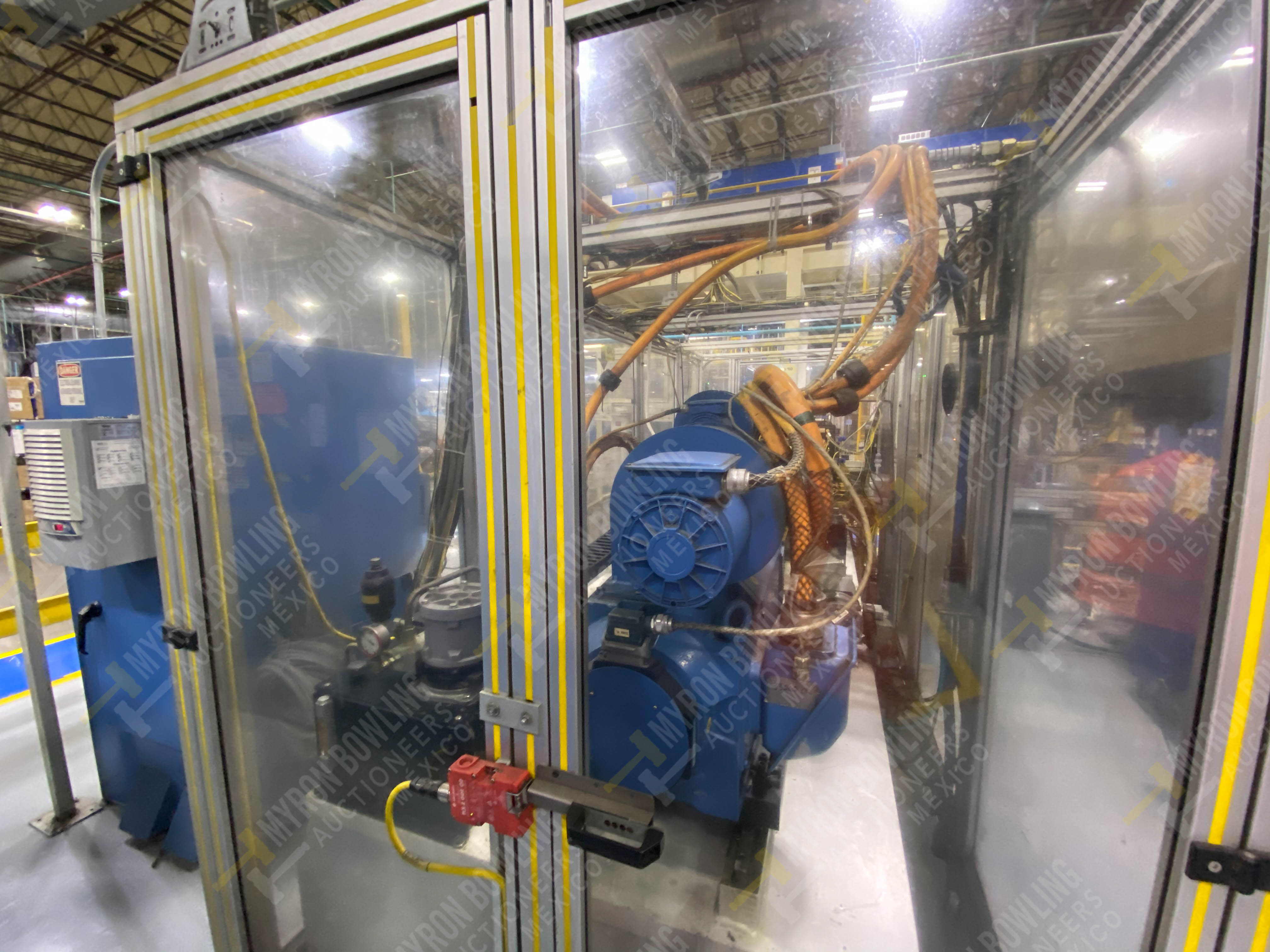 Estación semiautomática para operación 445, contiene: Máquina dinamómetro con sistema de revolución - Image 4 of 25