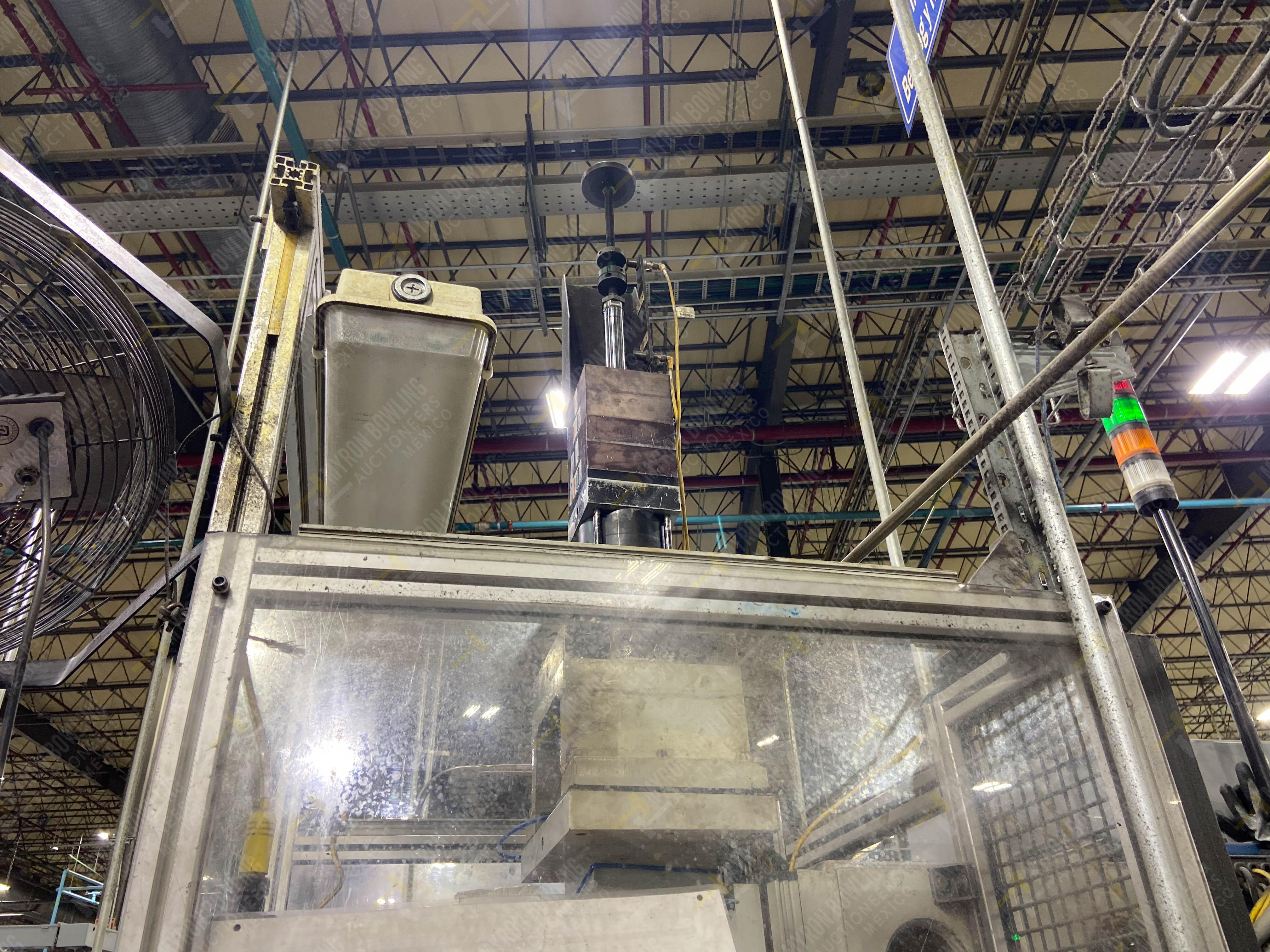 Estación semiautomática para operación 355A, contiene: Prensa en estructura de placa de acero - Image 16 of 36