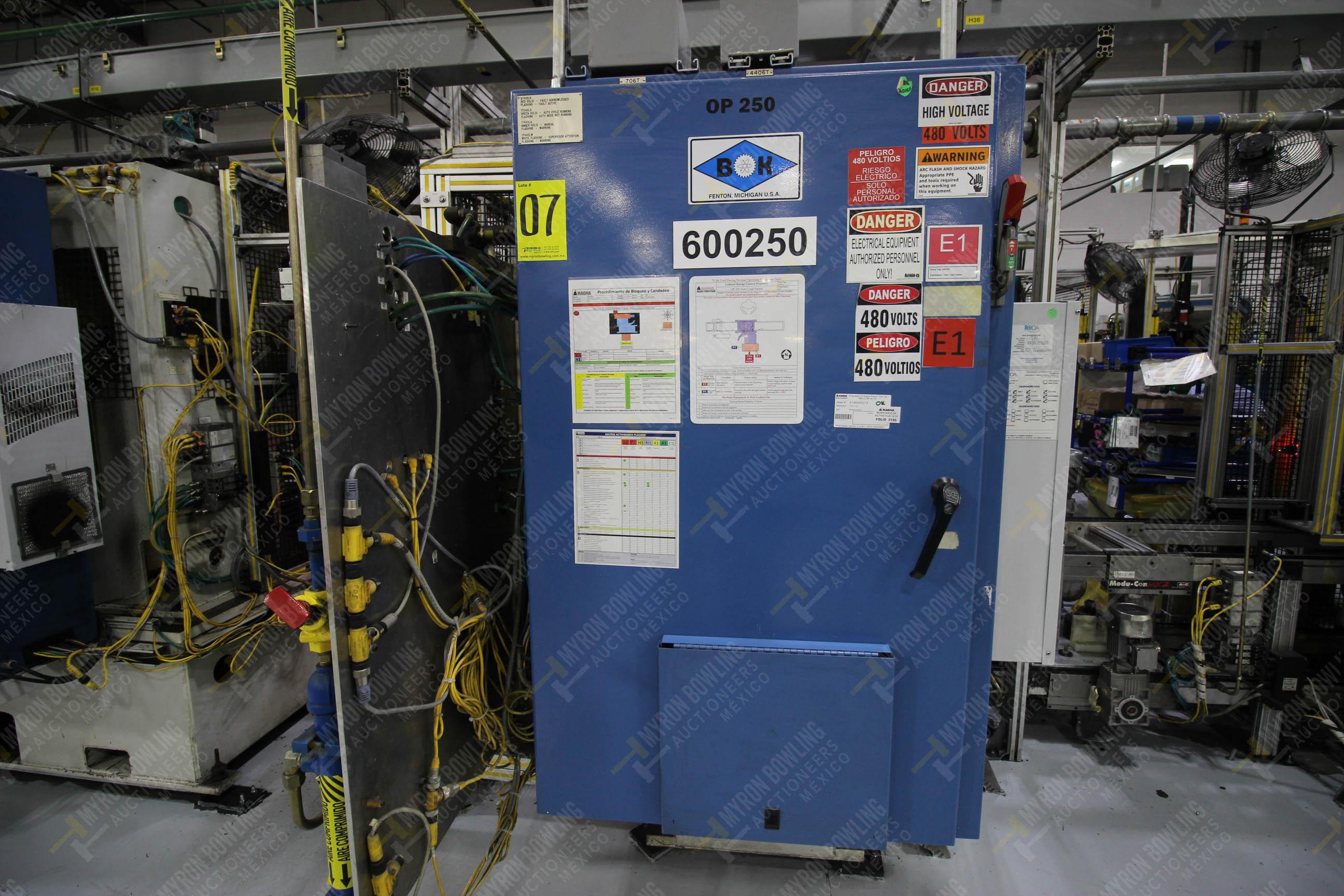 Estación semiautomática para operación 250 de ensamble de candado, contiene - Image 17 of 21