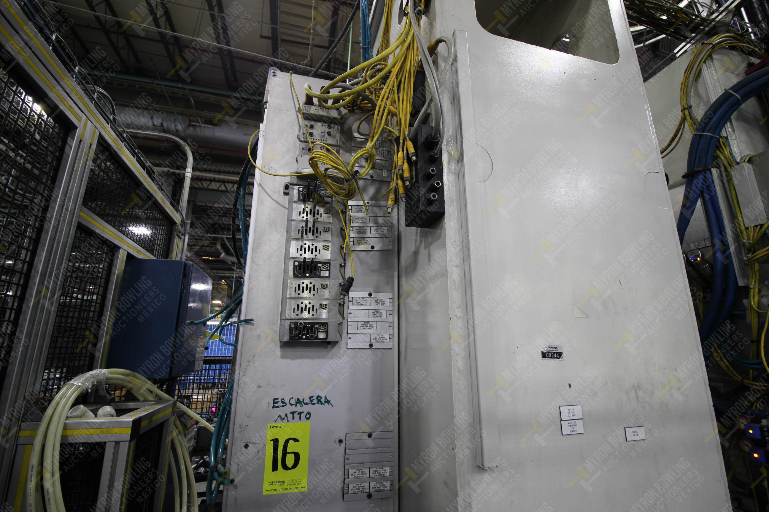 Estación semiautomática para operación 305D, contiene: Prensa tipo cuello de ganso con dos cilindros - Image 10 of 20