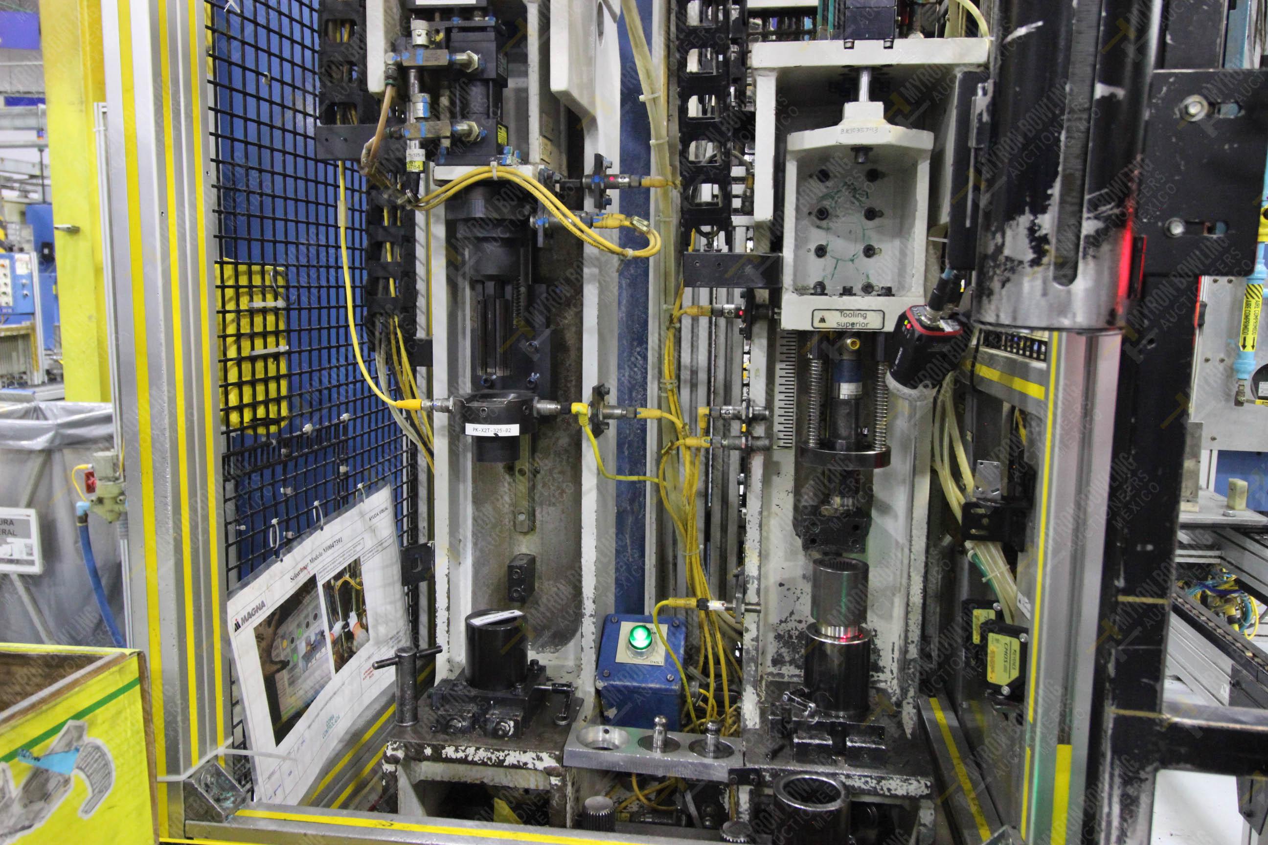 Estación semiautomática para operación 325, contiene: Prensa con dos cilindros marca TOX - Image 10 of 24