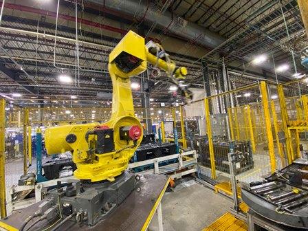 Robot con capacidad de carga de 50-100 Kg, controlador de robot y teach pendant - Image 15 of 22